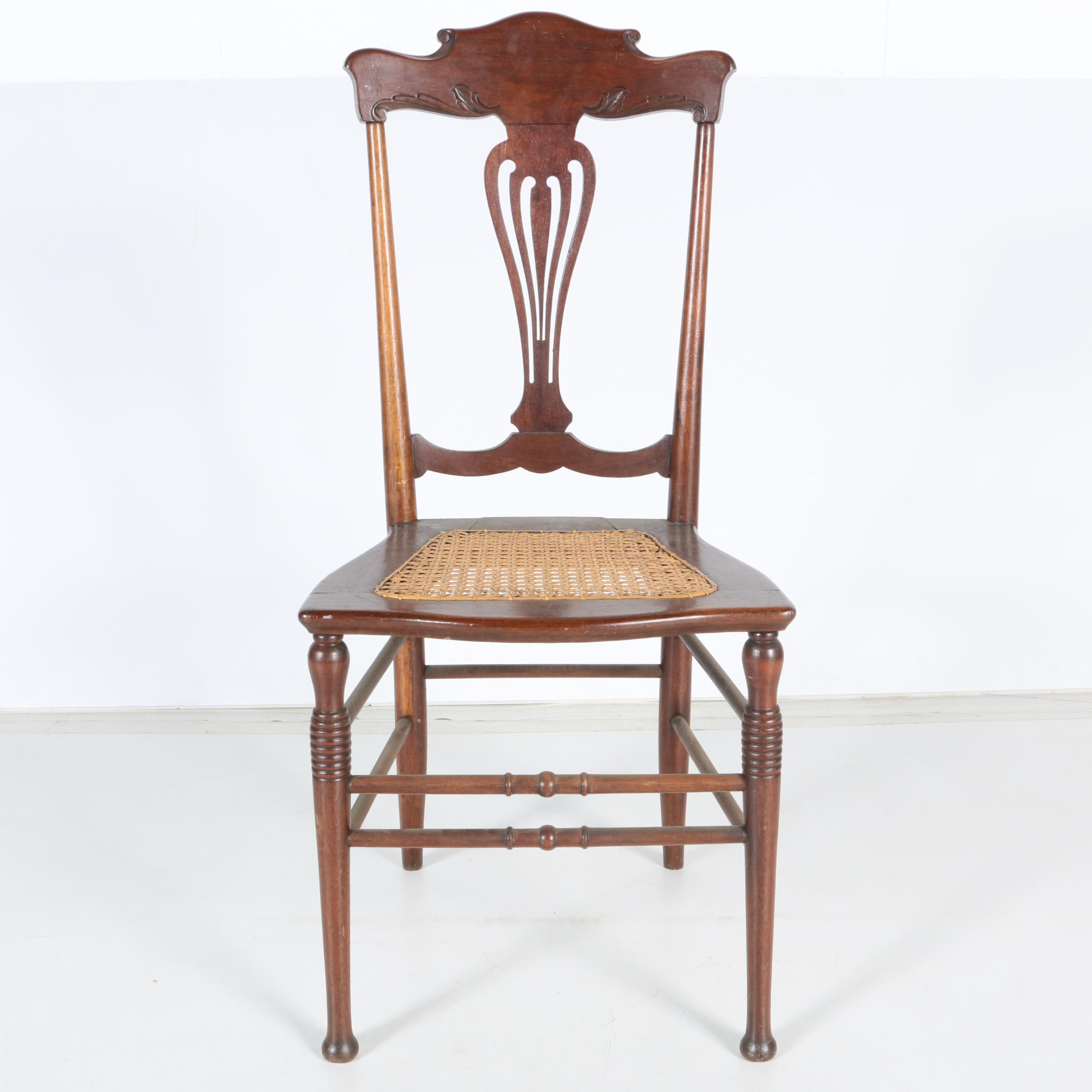 Antique Colonial Revival Side Chair