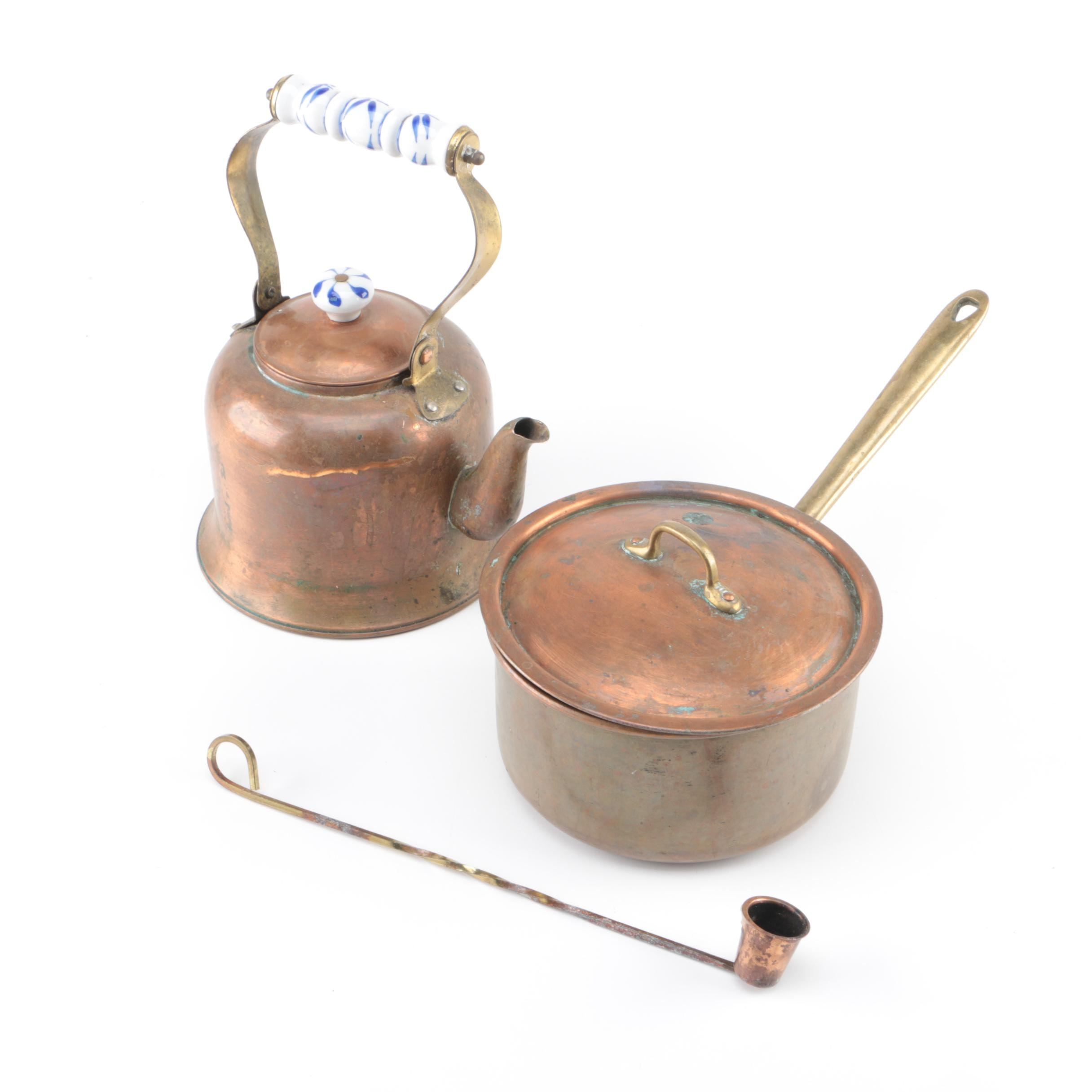 Vintage Copper Kitchenwares
