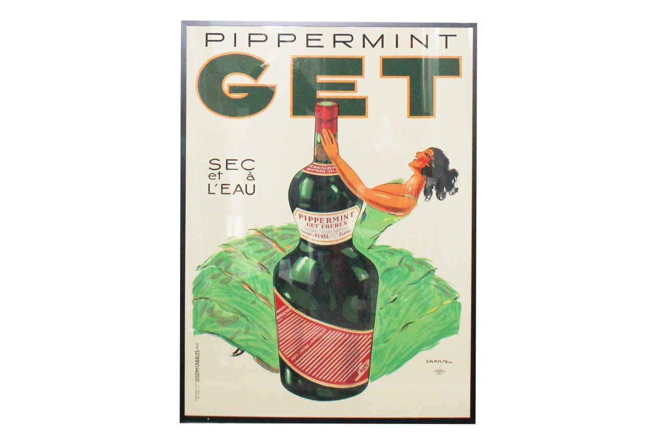 "Offset Lithograph After Advertisement ""Get Pippermint"""