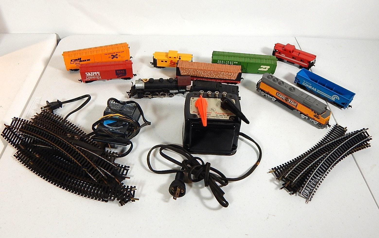 ho scale train cars locomotive transformer and tracks ebth rh ebth com