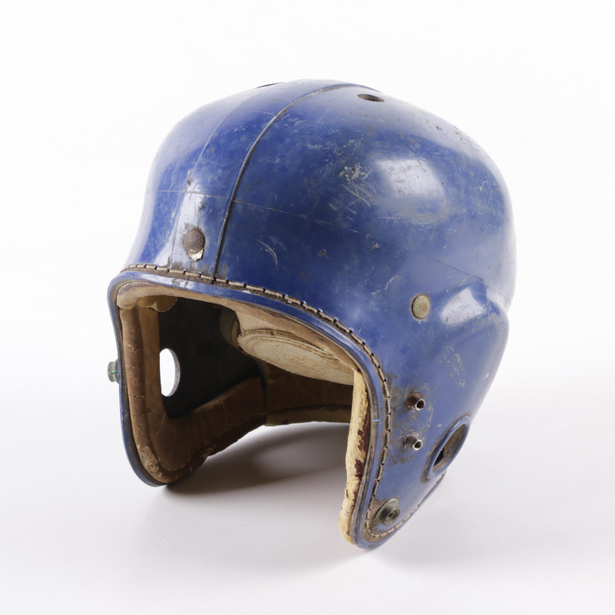 "Vintage Rawlings ""Bobby Layne"" Football Helmet"