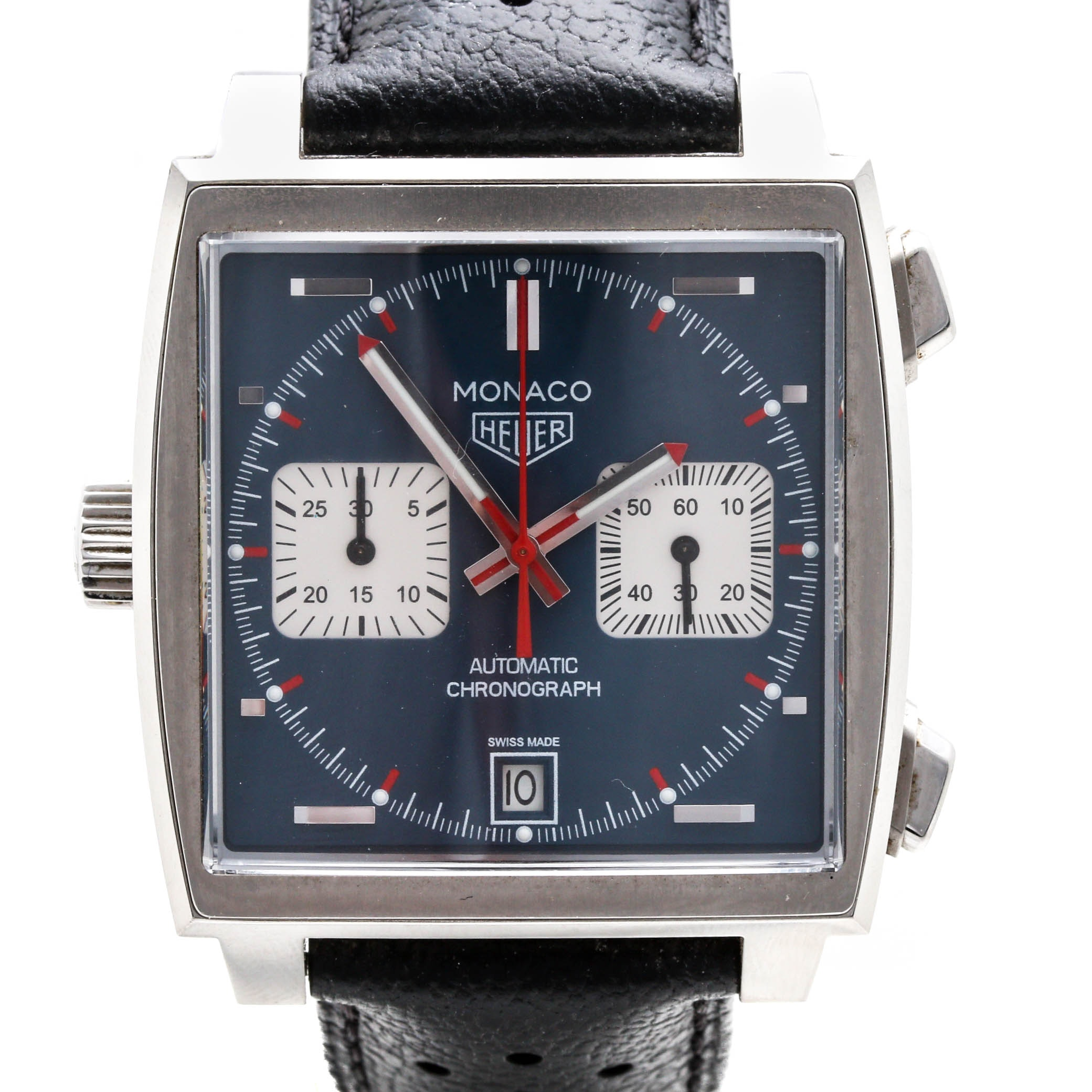 TAG Heuer 'Monaco' Automatic Chronograph Wristwatch