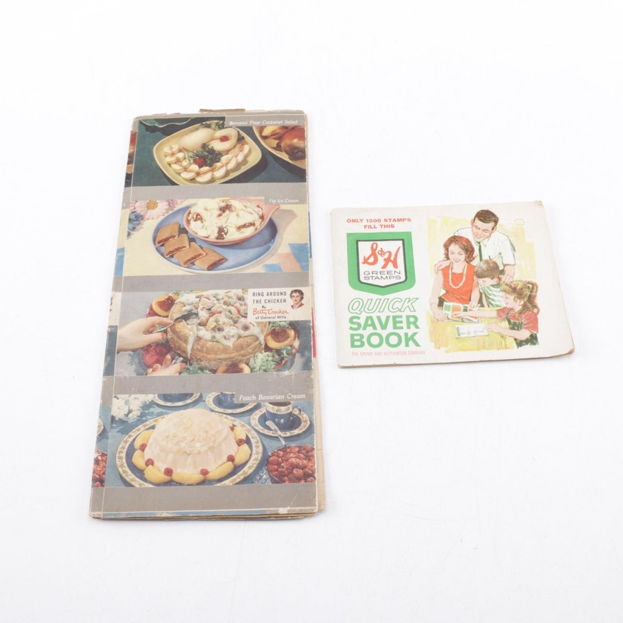 Betty crocker cookbook and sh green stamp booklet ebth betty crocker cookbook and sh green stamp booklet forumfinder Gallery