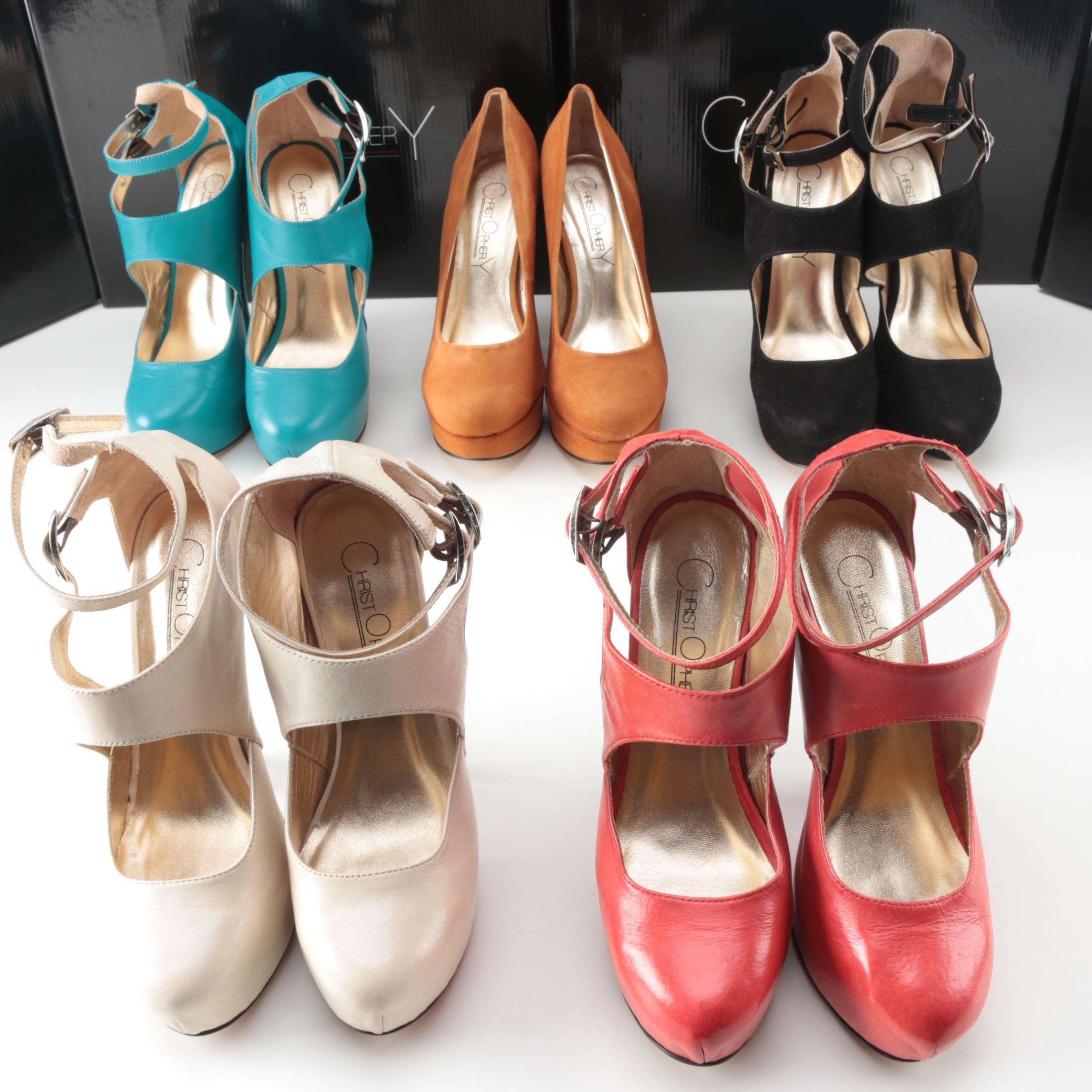 Women's Christopher Coy Dual Heeled Platform Stilettos