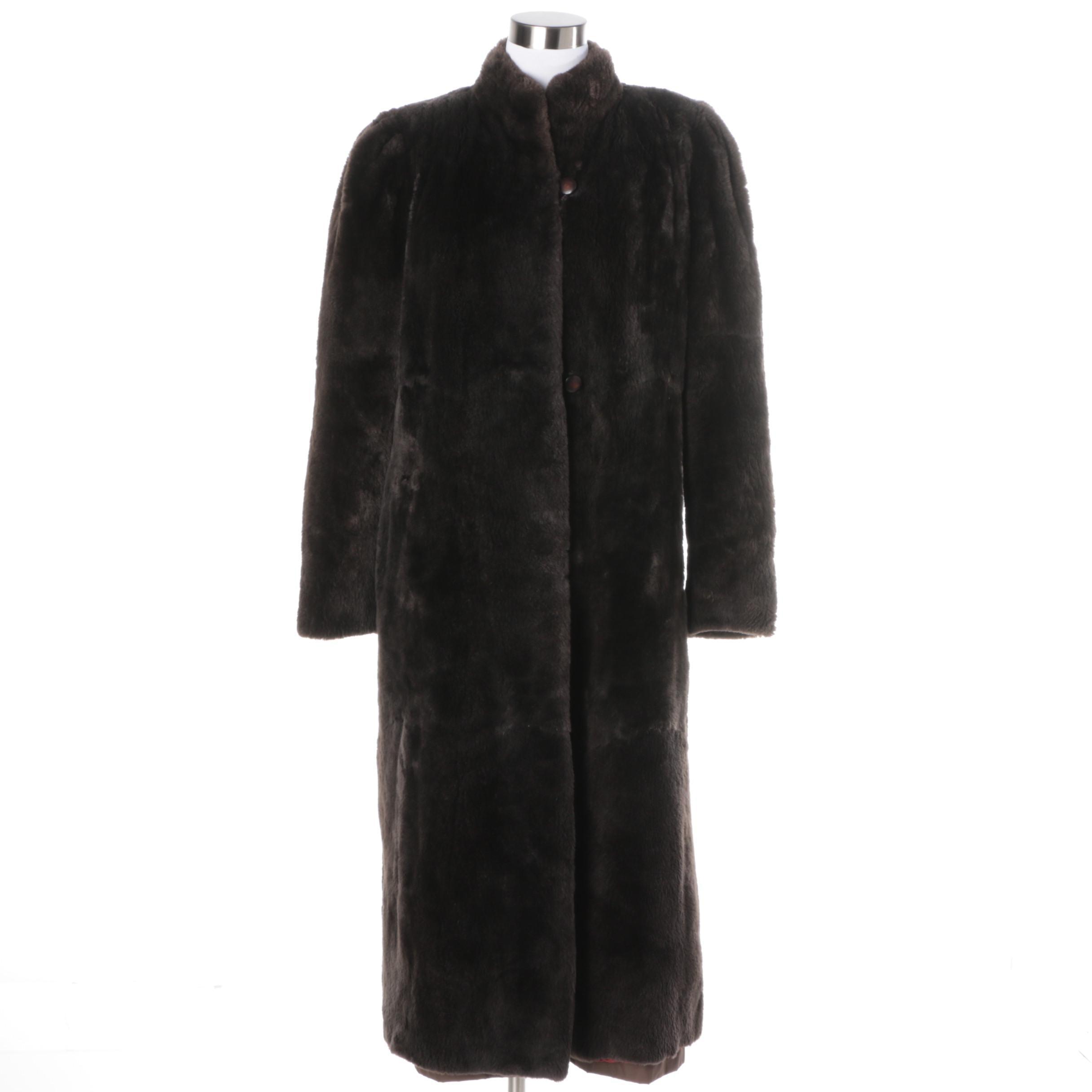Women's Sheared Mink Coat