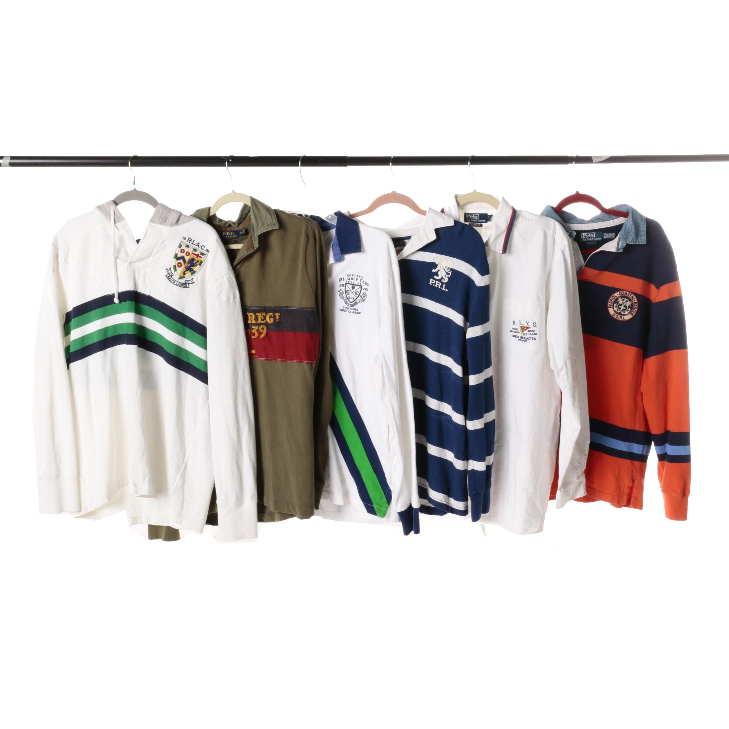Men's Polo Ralph Lauren Rugby Shirts, Pullovers and a Button-Down