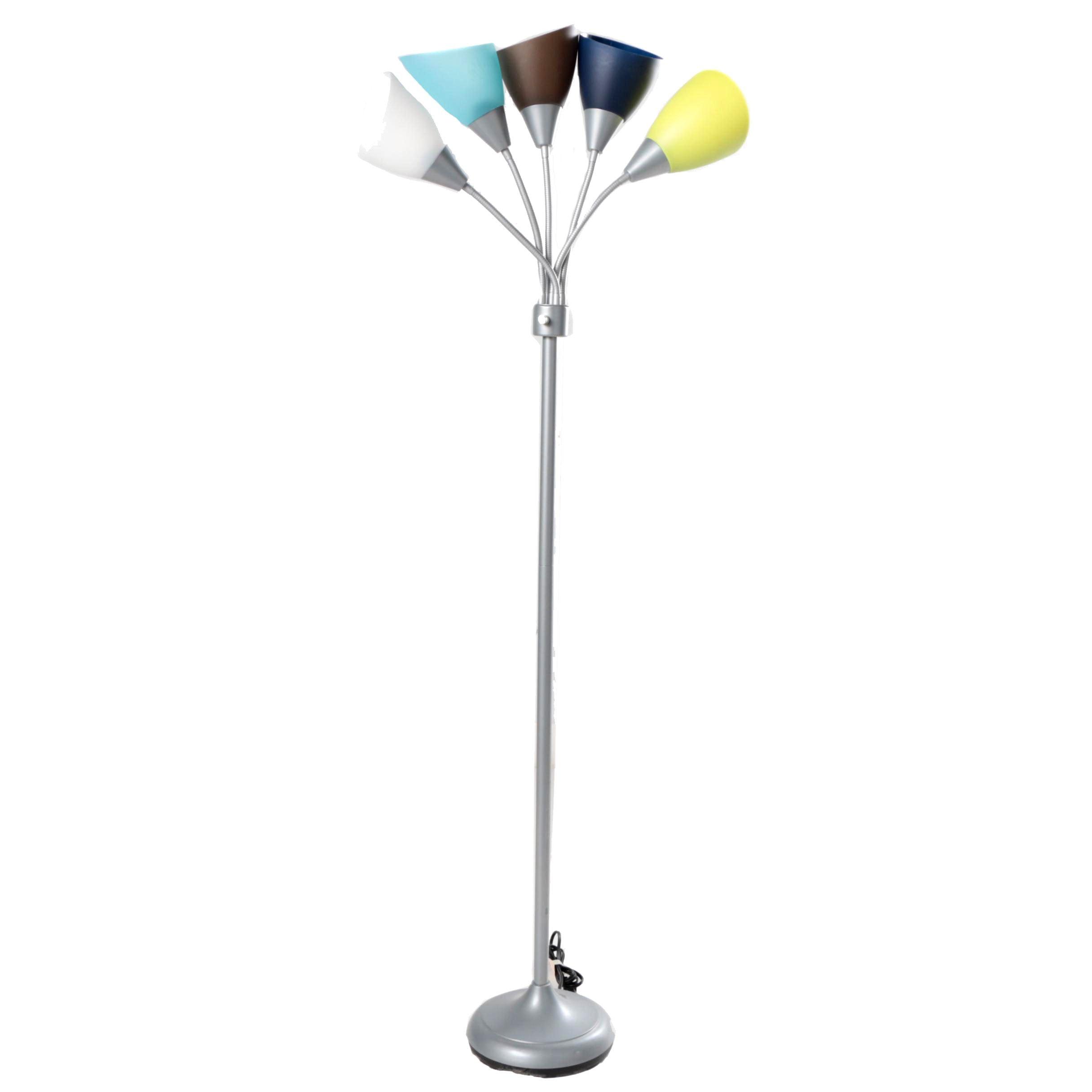 Multi-Color Tree Style Floor Lamp