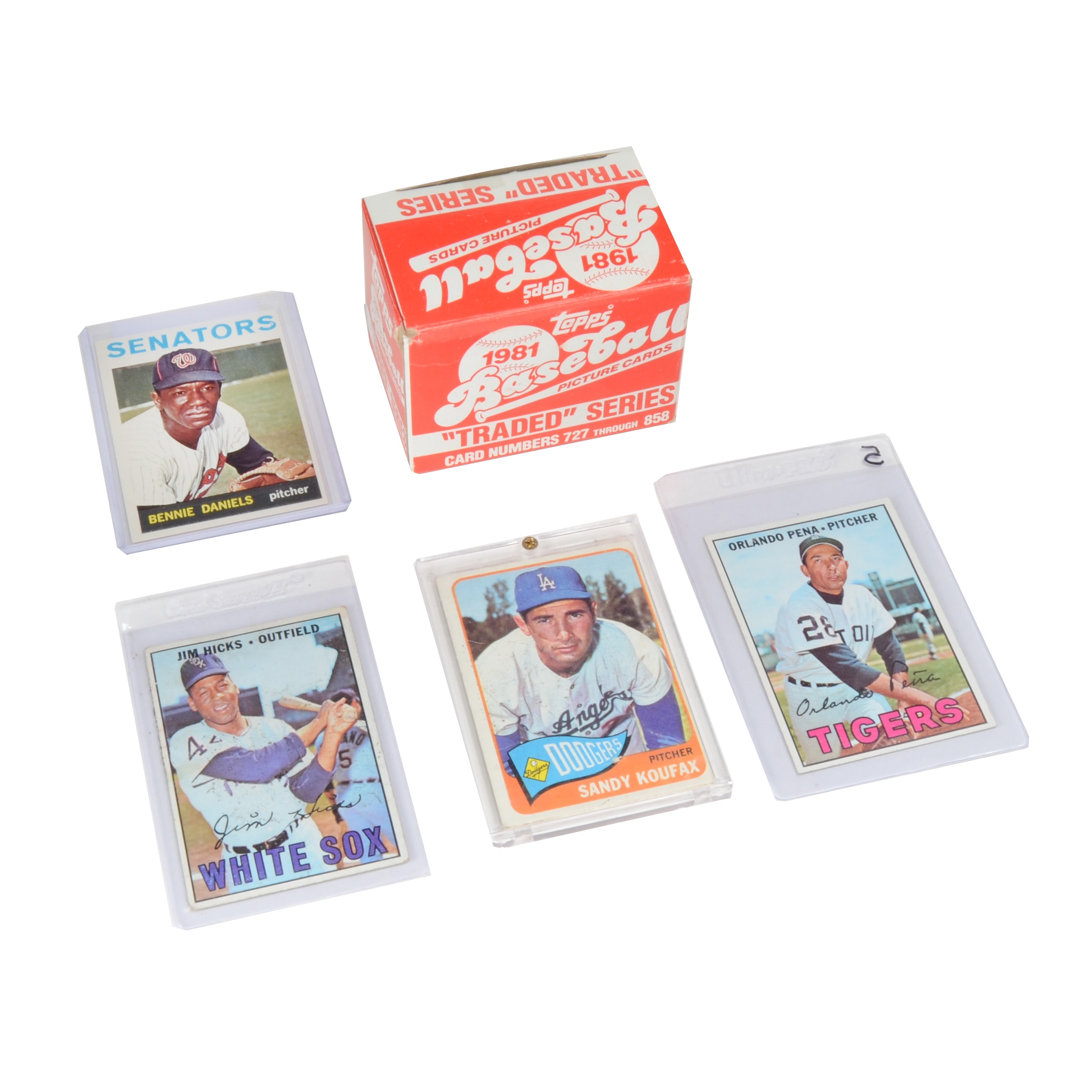 Small Selection of Baseball Cards