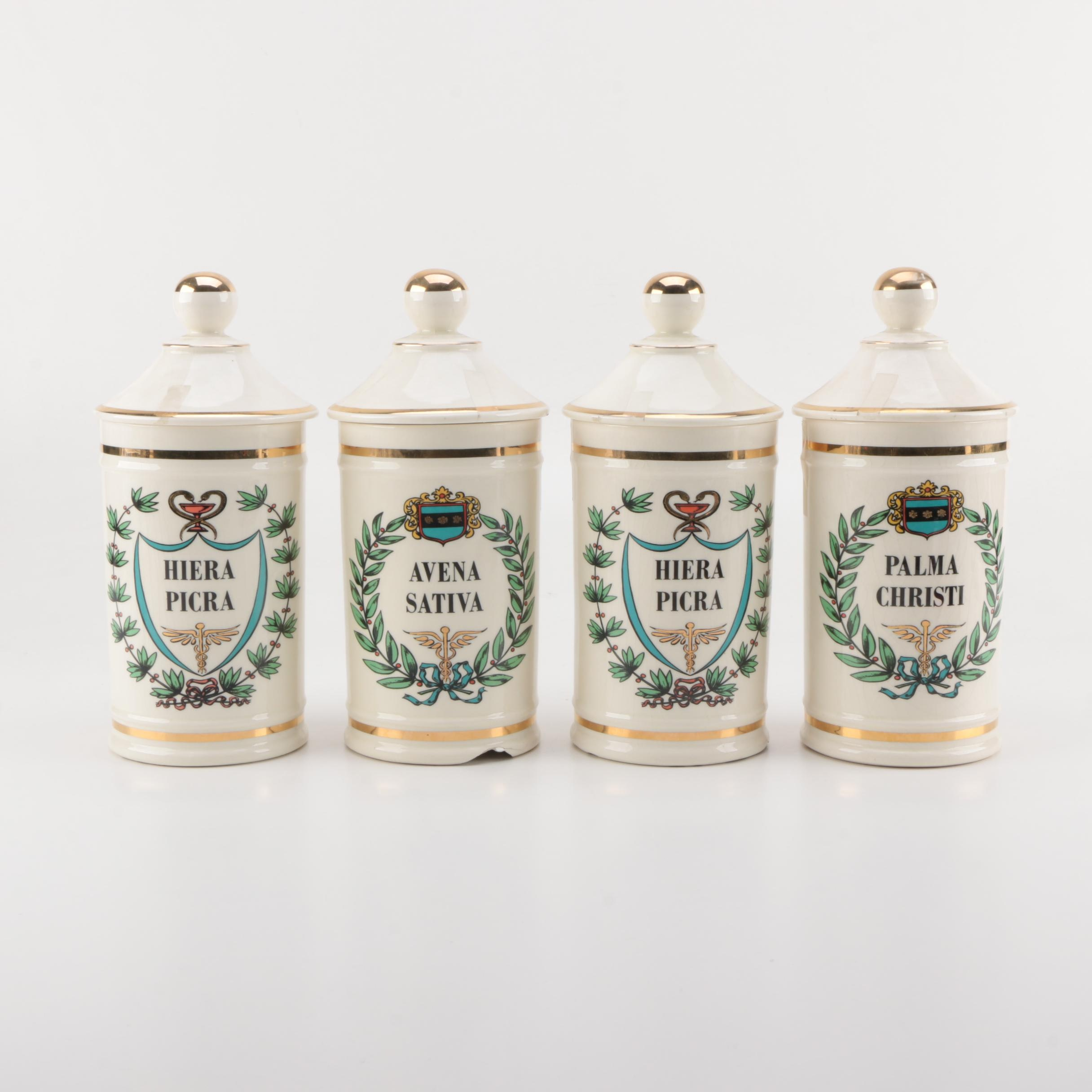 Jeanne Robinette Apothecary Jars
