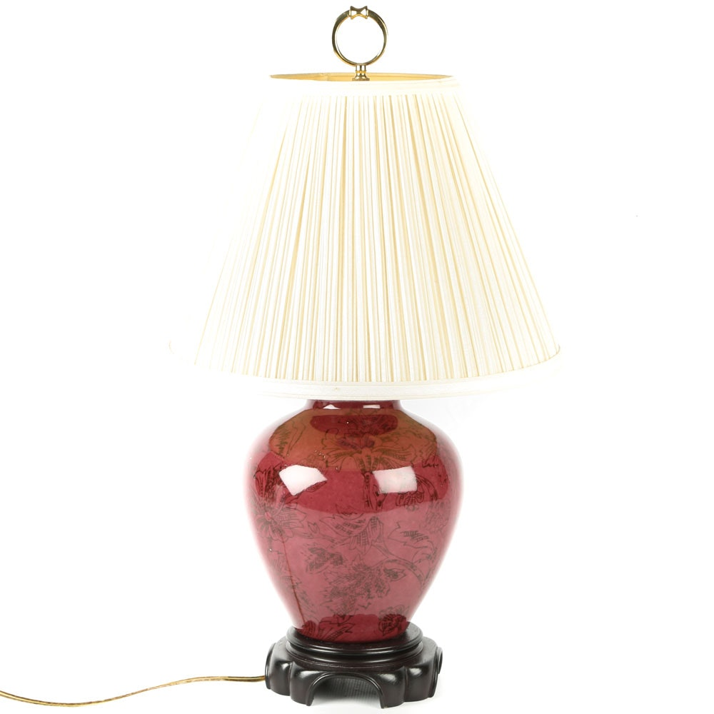 Ginger Jar Style Table Lamp