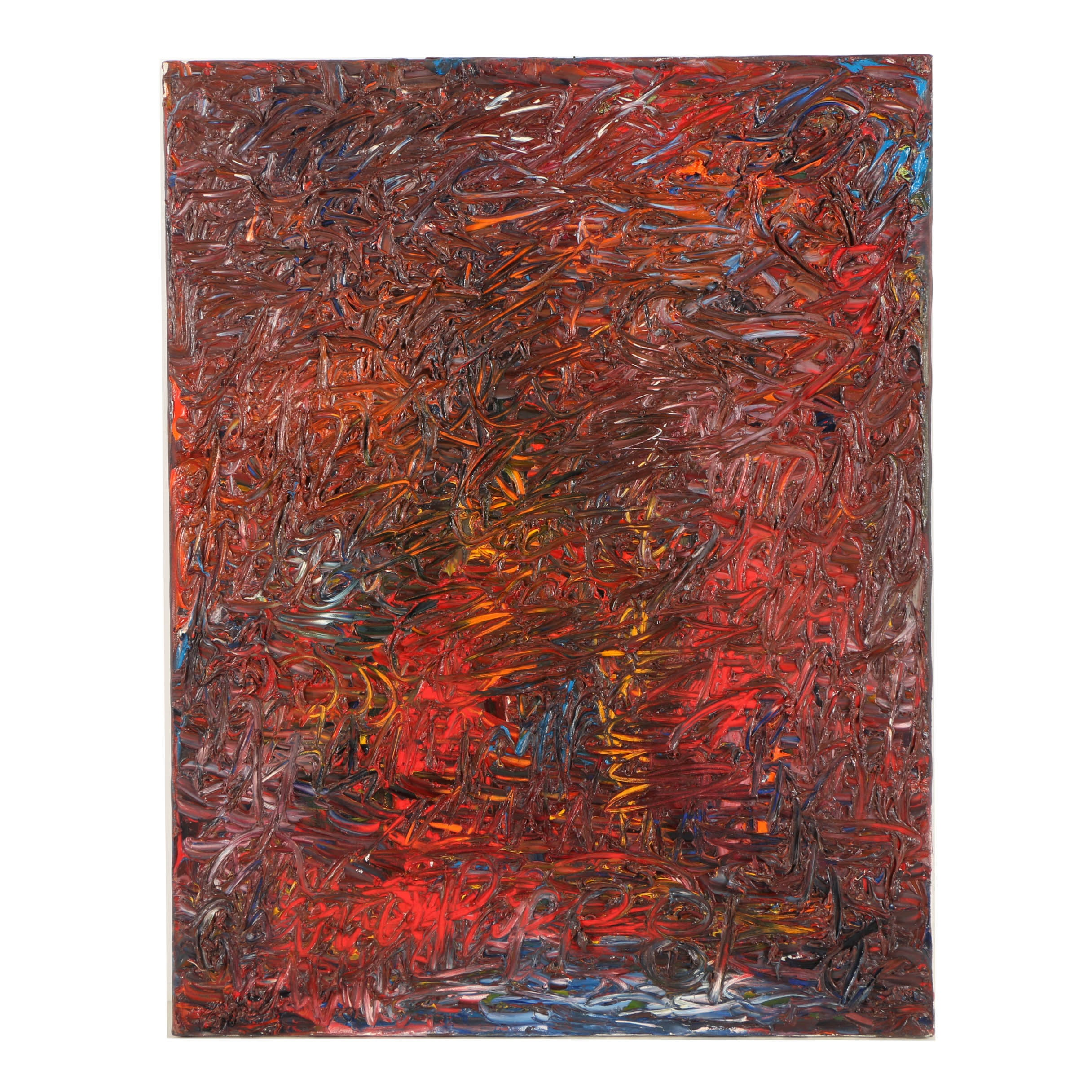Louis Papp Abstract Oil Painting on Canvas