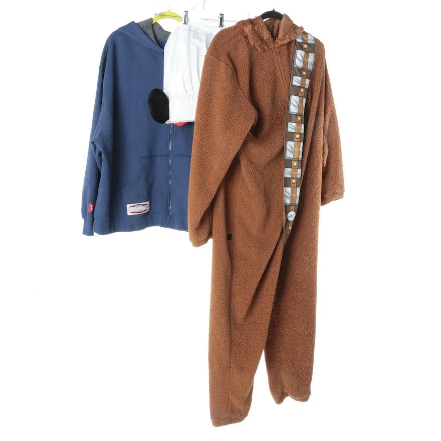 Disney Chewbacca Costume and Dinner Paris Chef Hat   EBTH f29b9b7571bf