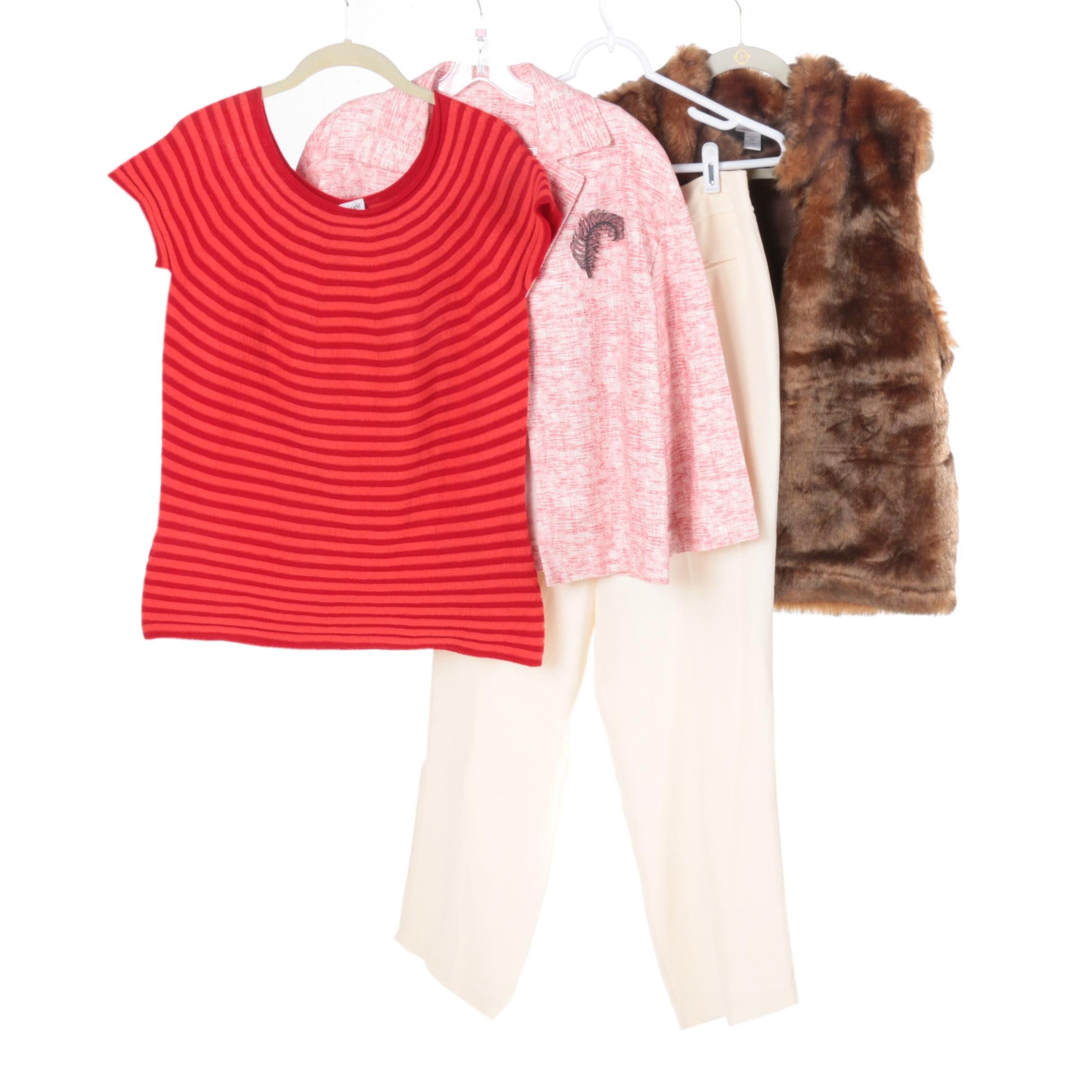 Women's Separates Including Armani and Emanuel Ungaro