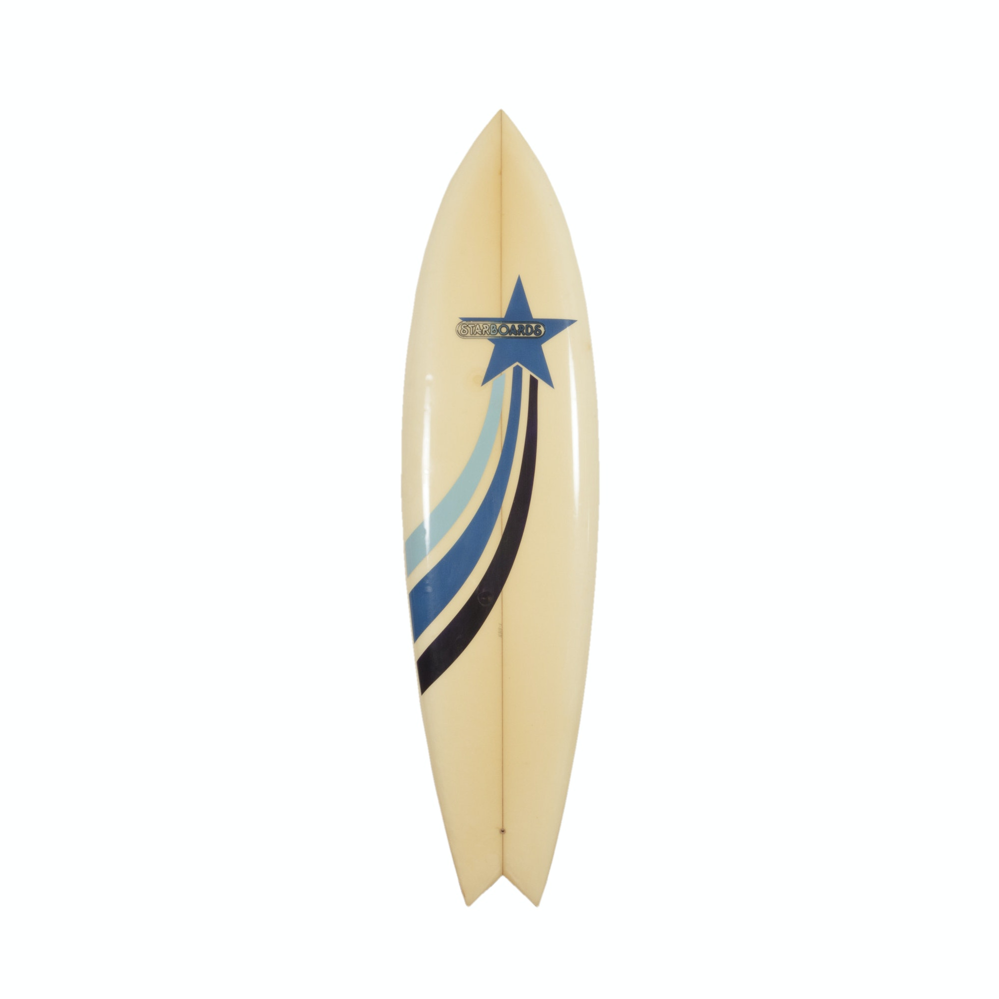 "Starboards Surfboard with 6.5"" Skip Frye Flex Fin"