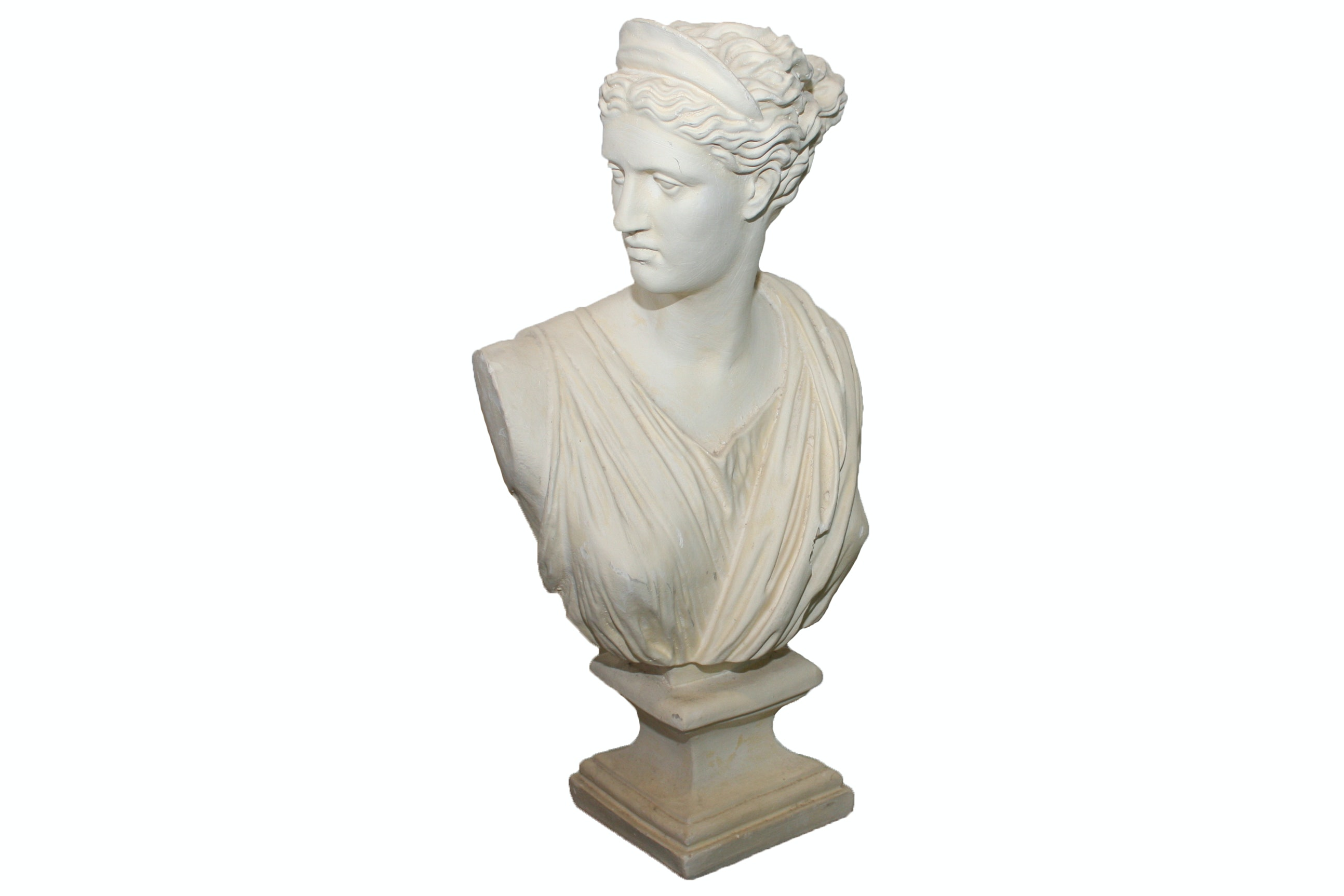 Plaster Replica Bust of Diana