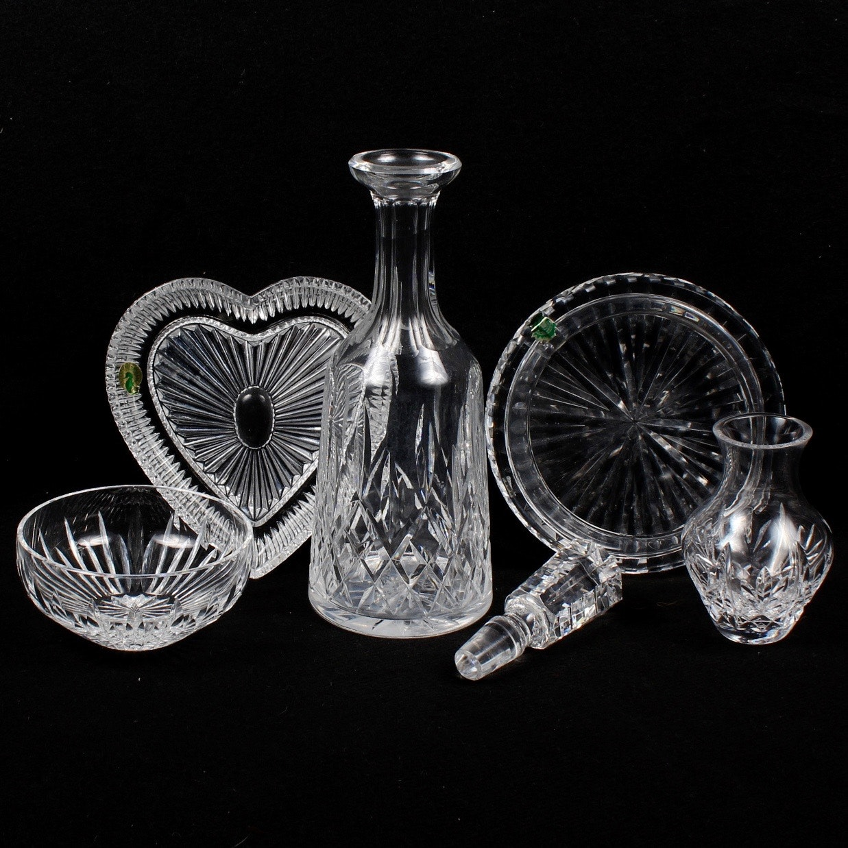 "Waterford Crystal Featuring ""Lismore"" Decanter"