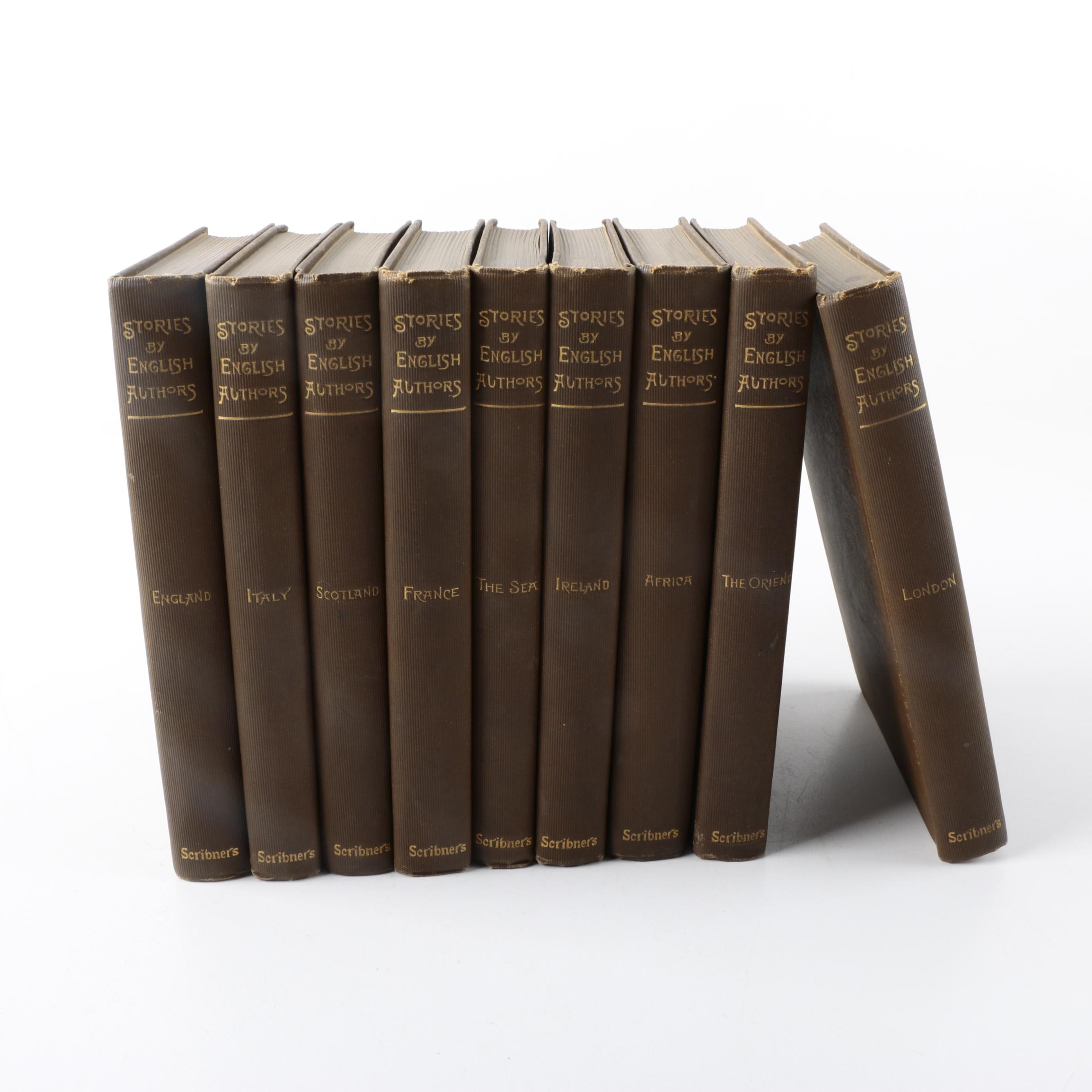 "1899 ""Stories by English Authors"" in Nine Volumes"