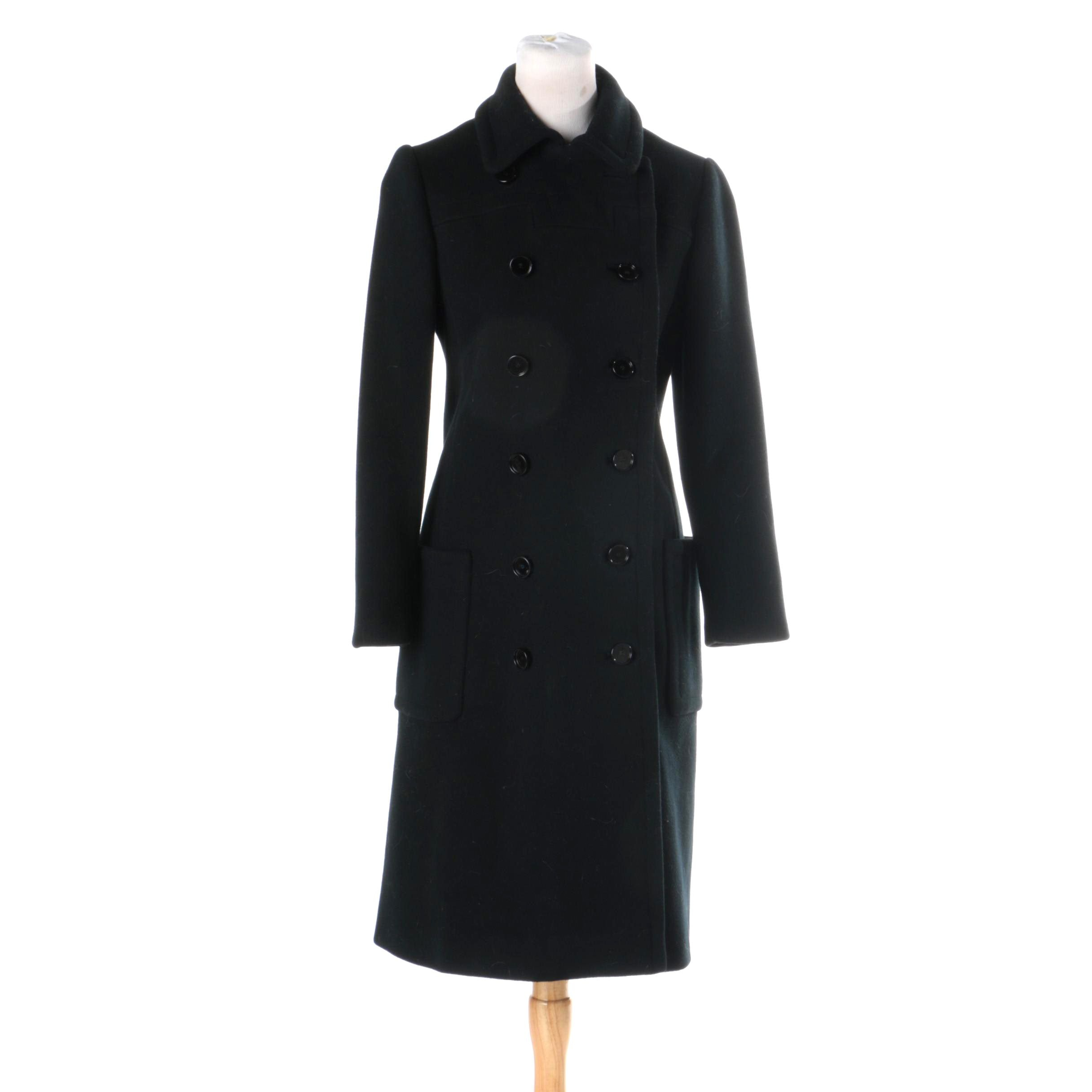 Women's Vintage Harzfeld's Double-Breasted Coat