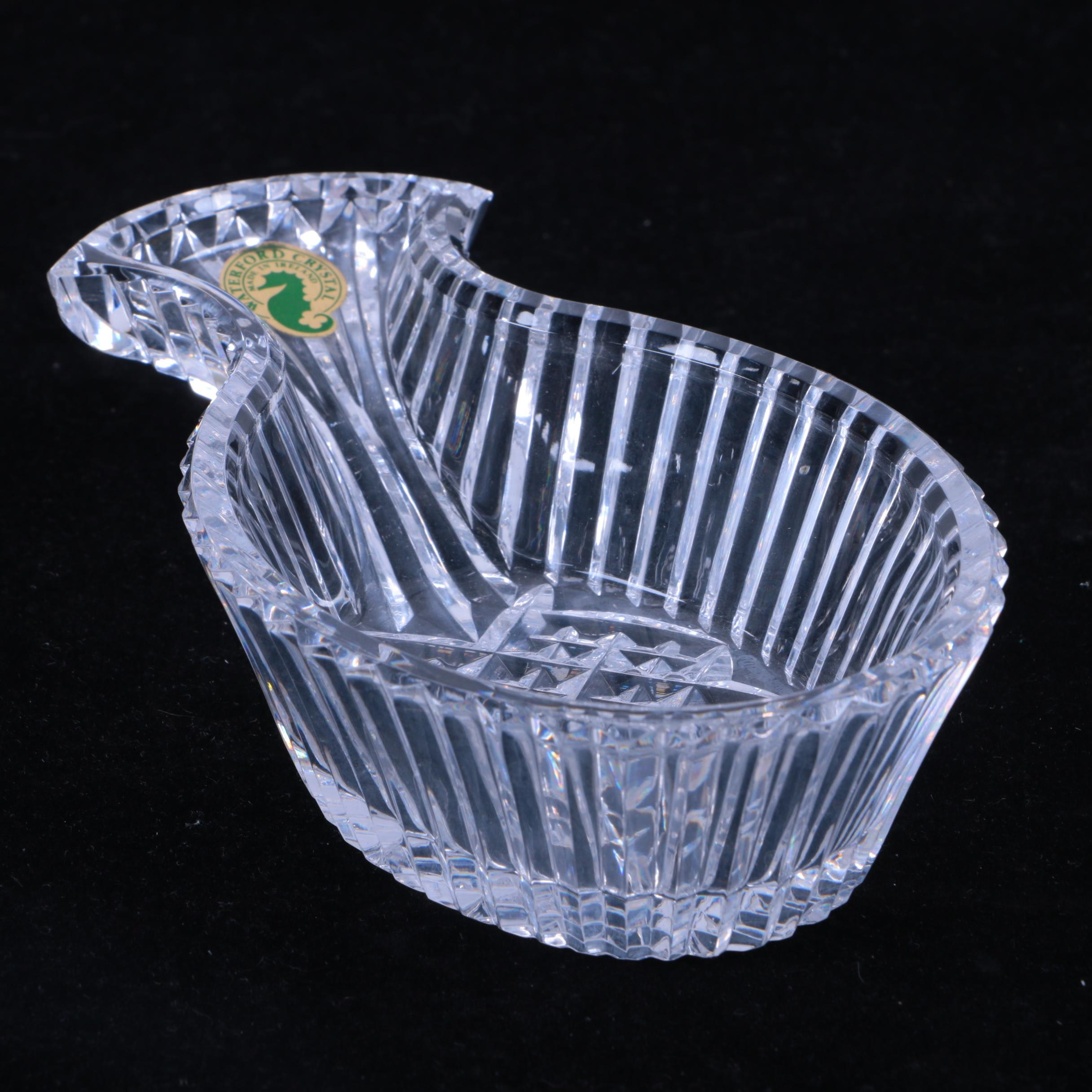 """Waterford Crystal """"Hospitality"""" Pineapple Bowl"""