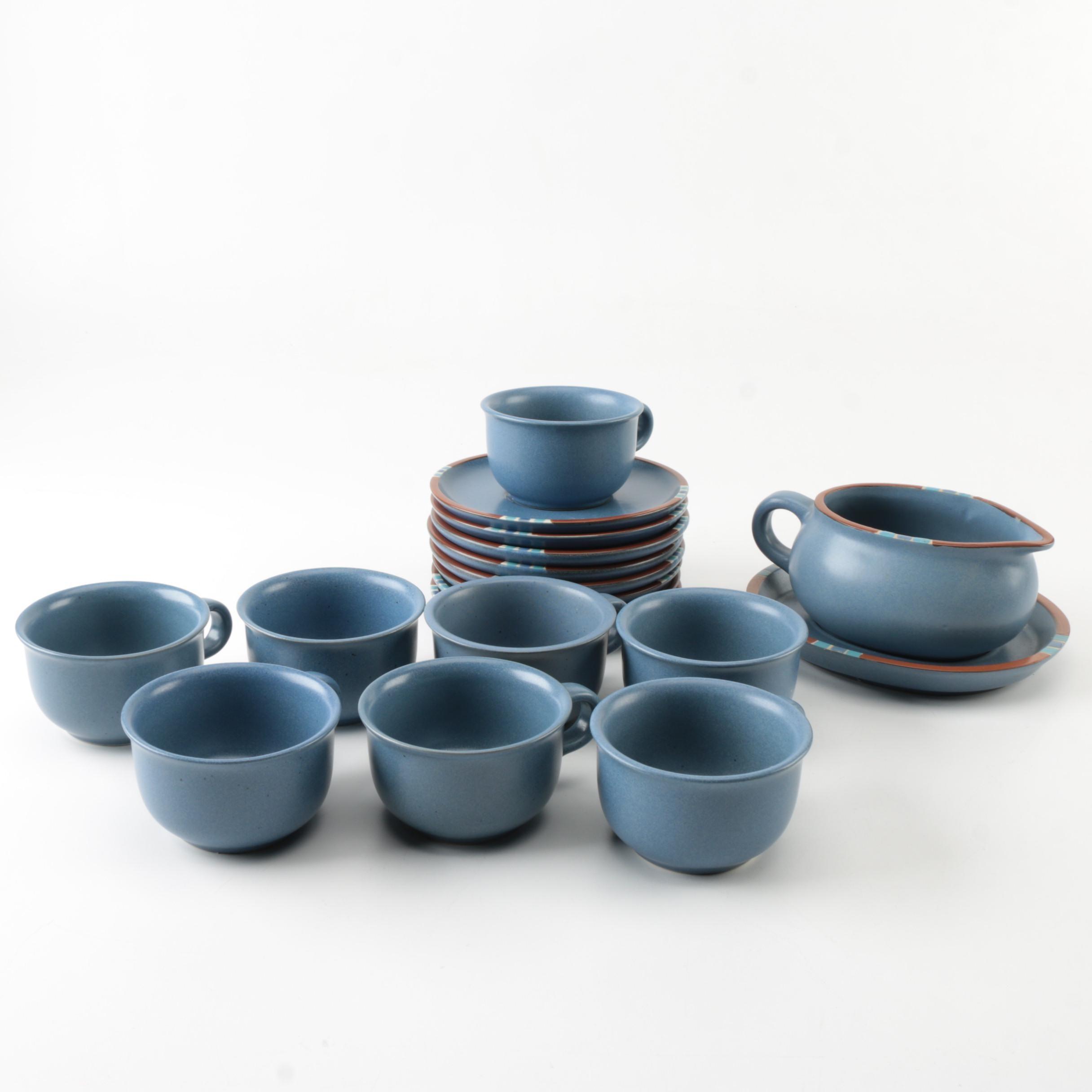 "Dansk ""Mesa Sky Blue"" Tableware"