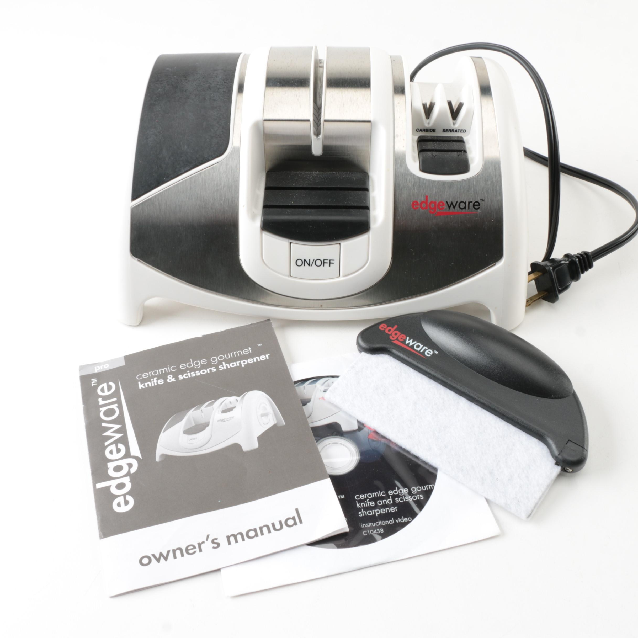 Edgeware Electric Knife and Scissors Sharpener