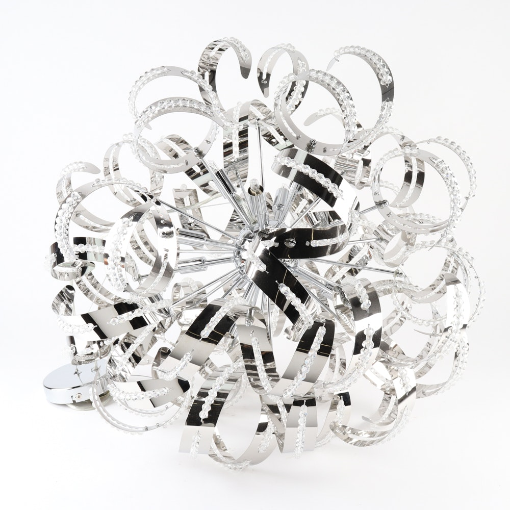 Quoizel 'Ribbons' Chandelier