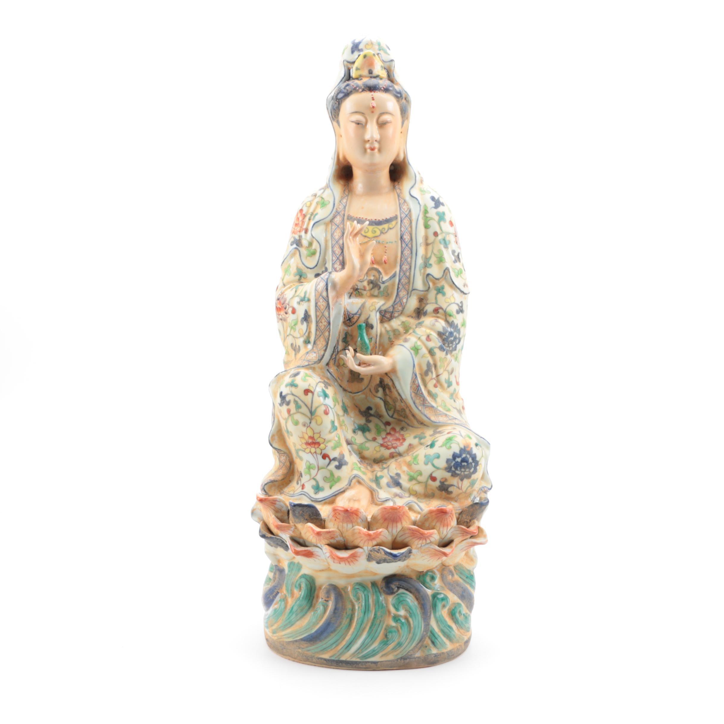 Ceramic Figurine of Guanyin