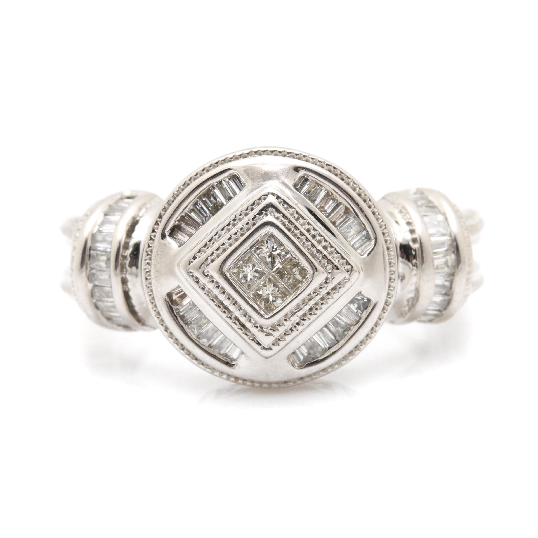 John C. Rinker 14K White Gold 1.04 CTW Diamond Ring