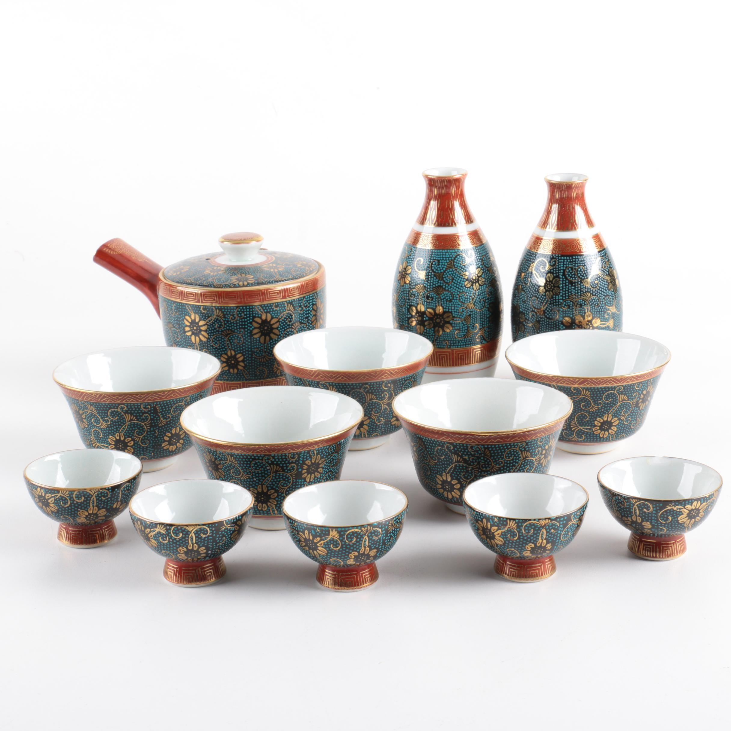 East Asian Style Porcelain Tableware