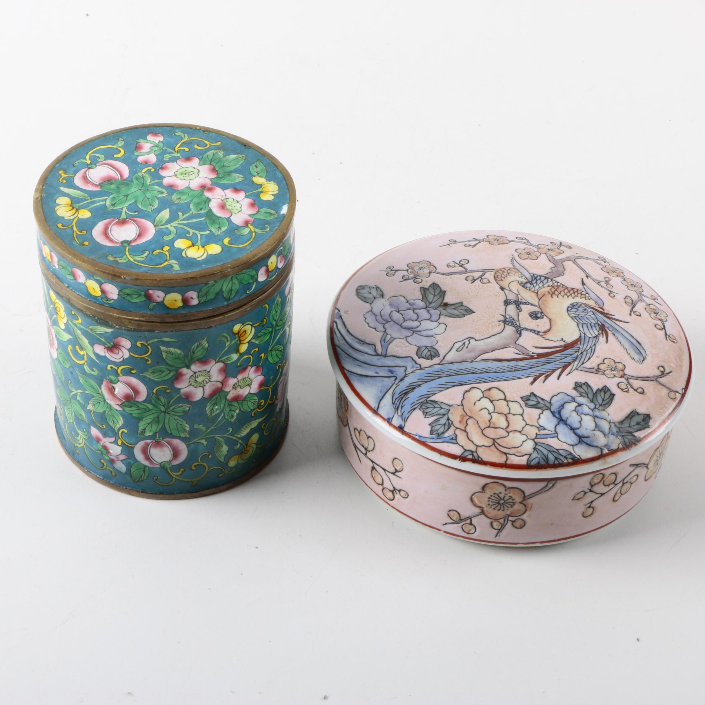 Ceramic Trinket Boxes
