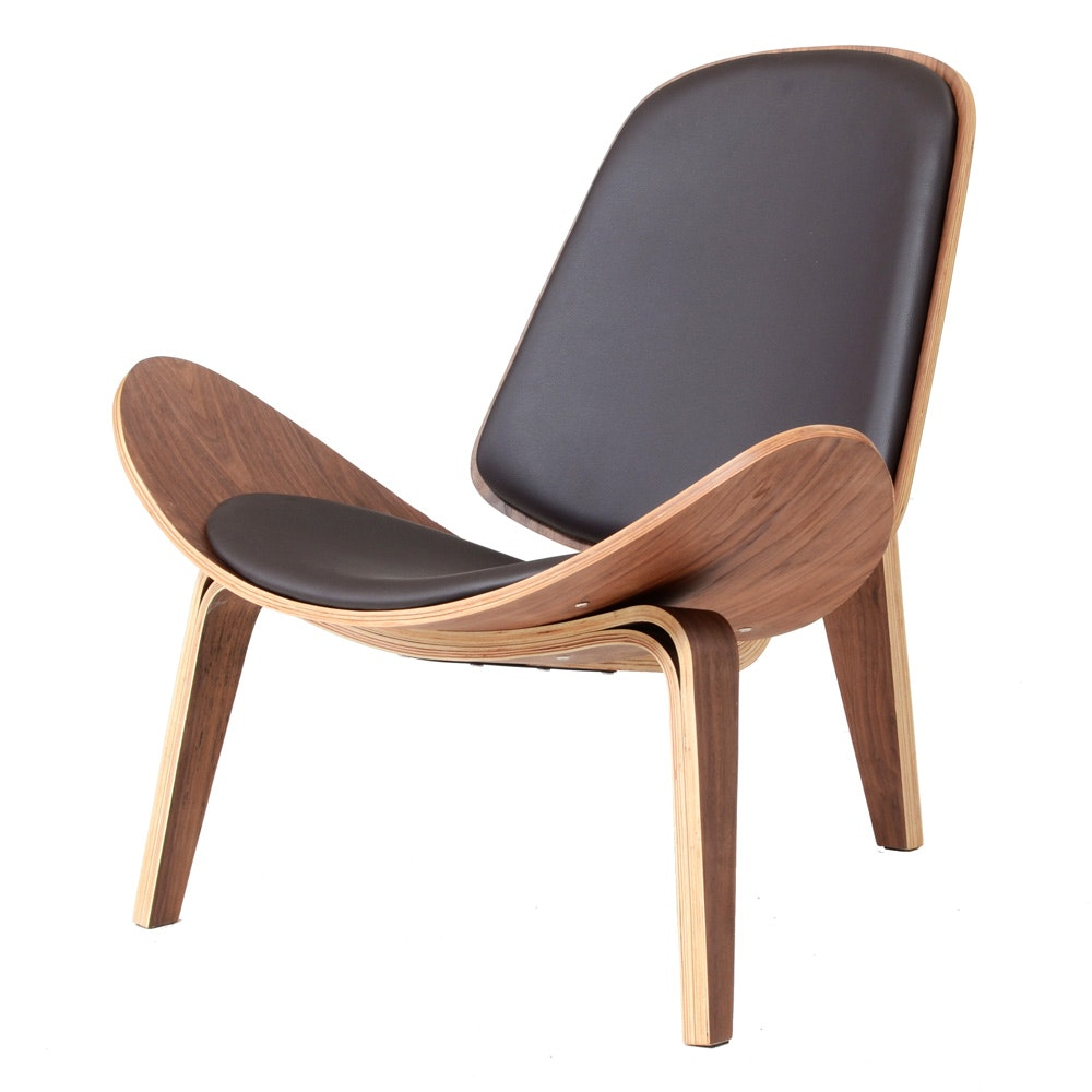 Modern Plywood Lounge Chair