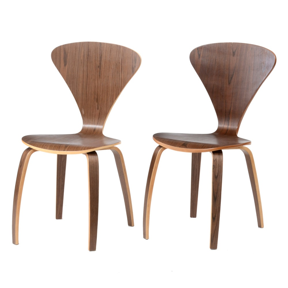 Norman Cherner Style Side Chairs