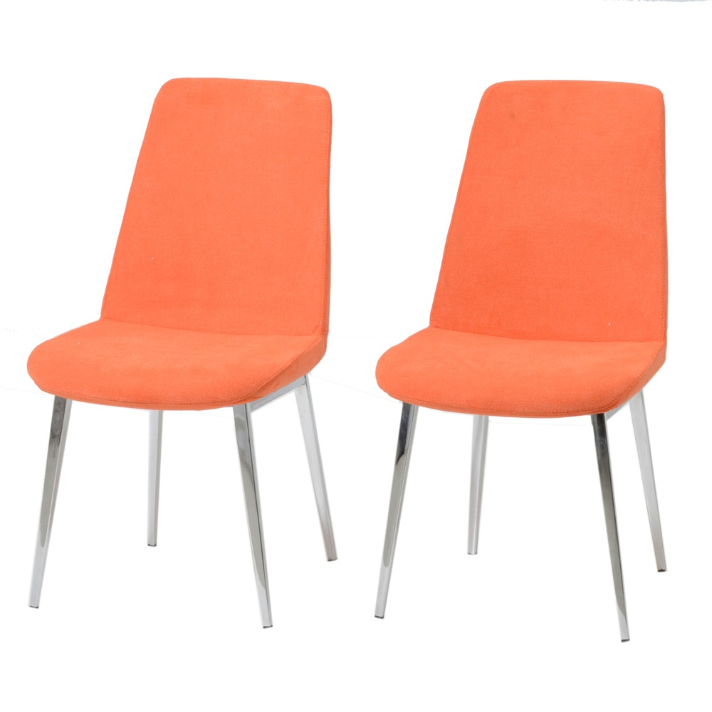 Pair of Modern Style Chairs
