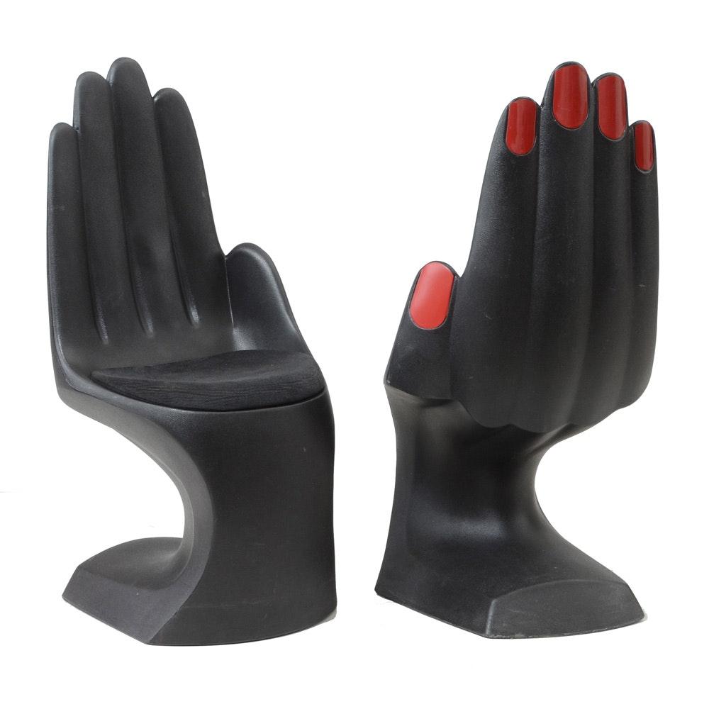 Modern Hand Shaped Chairs by European Touch Ltd.