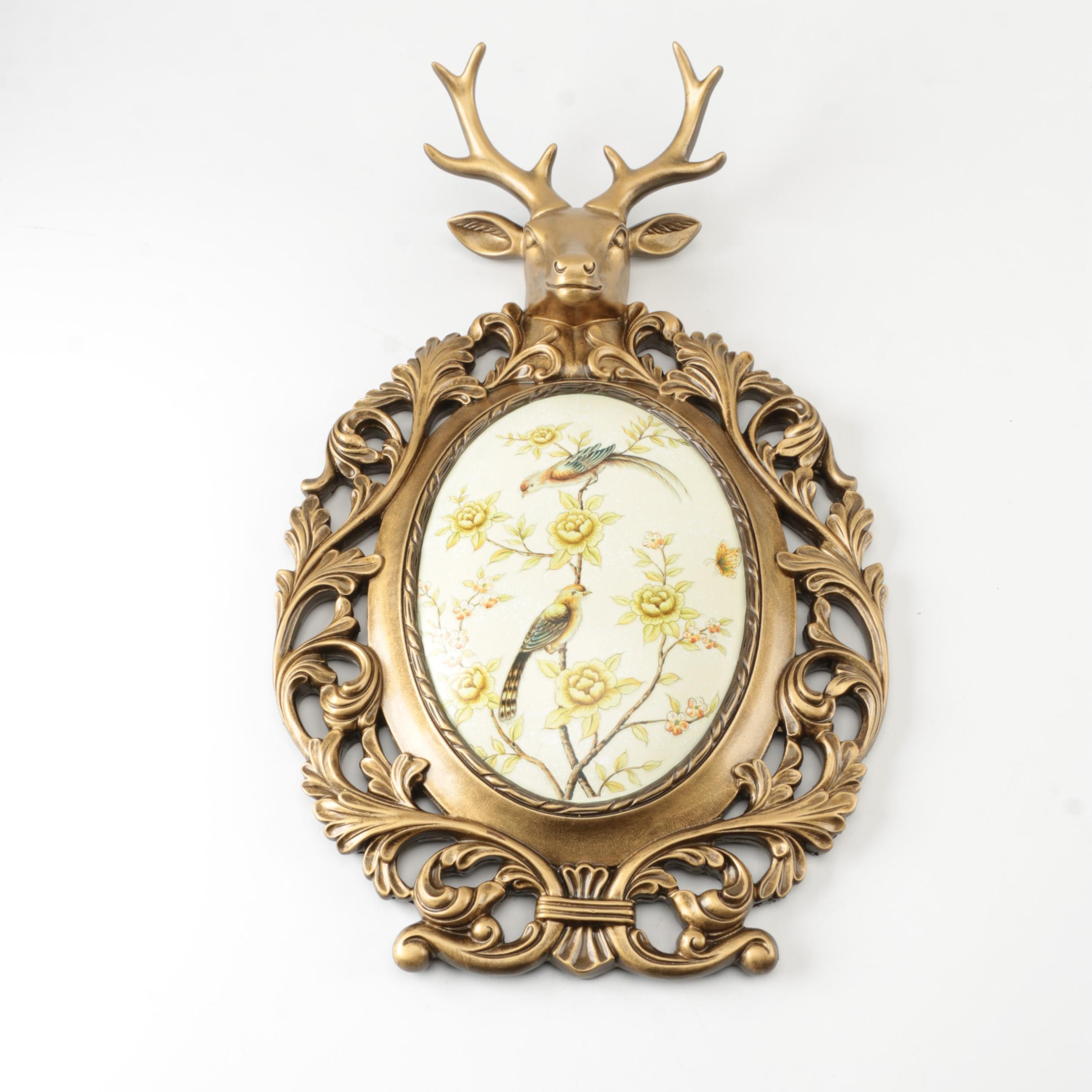 Naturalistic Style Wall Plaque