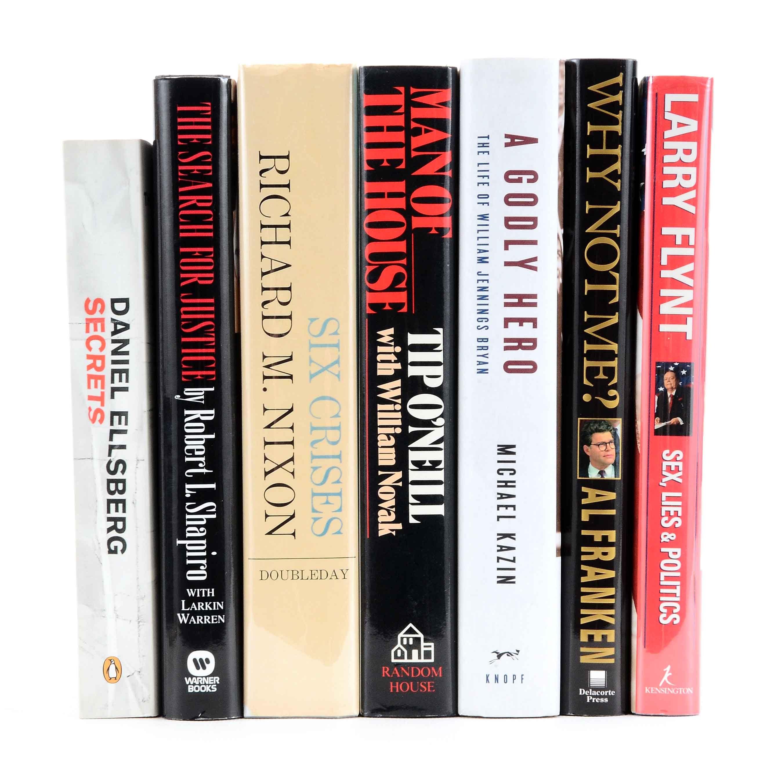 Signed Political Nonfiction, Biographies and Autobiographies