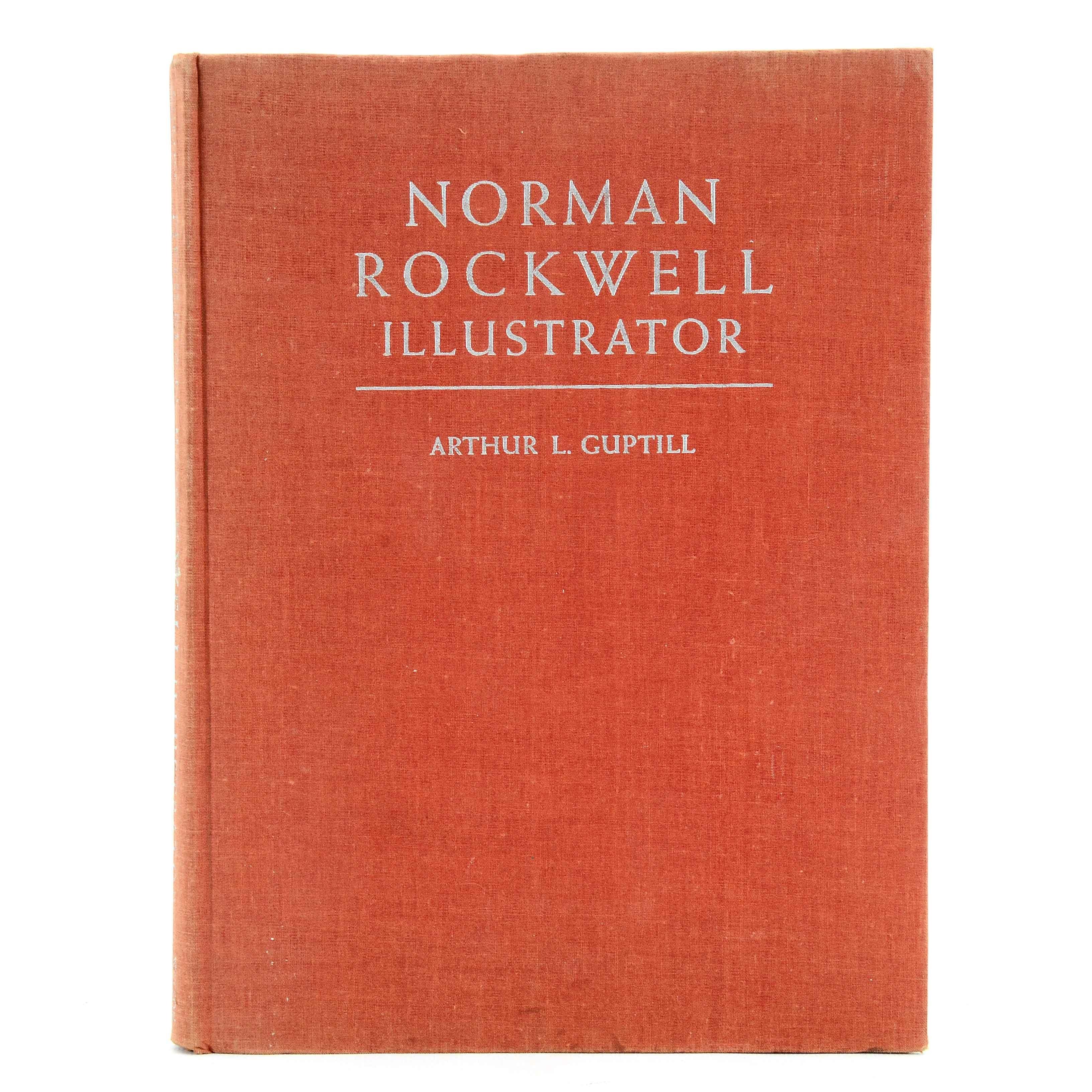 """Signed """"Norman Rockwell, Illustrator""""  by Arthur L. Guptill"""