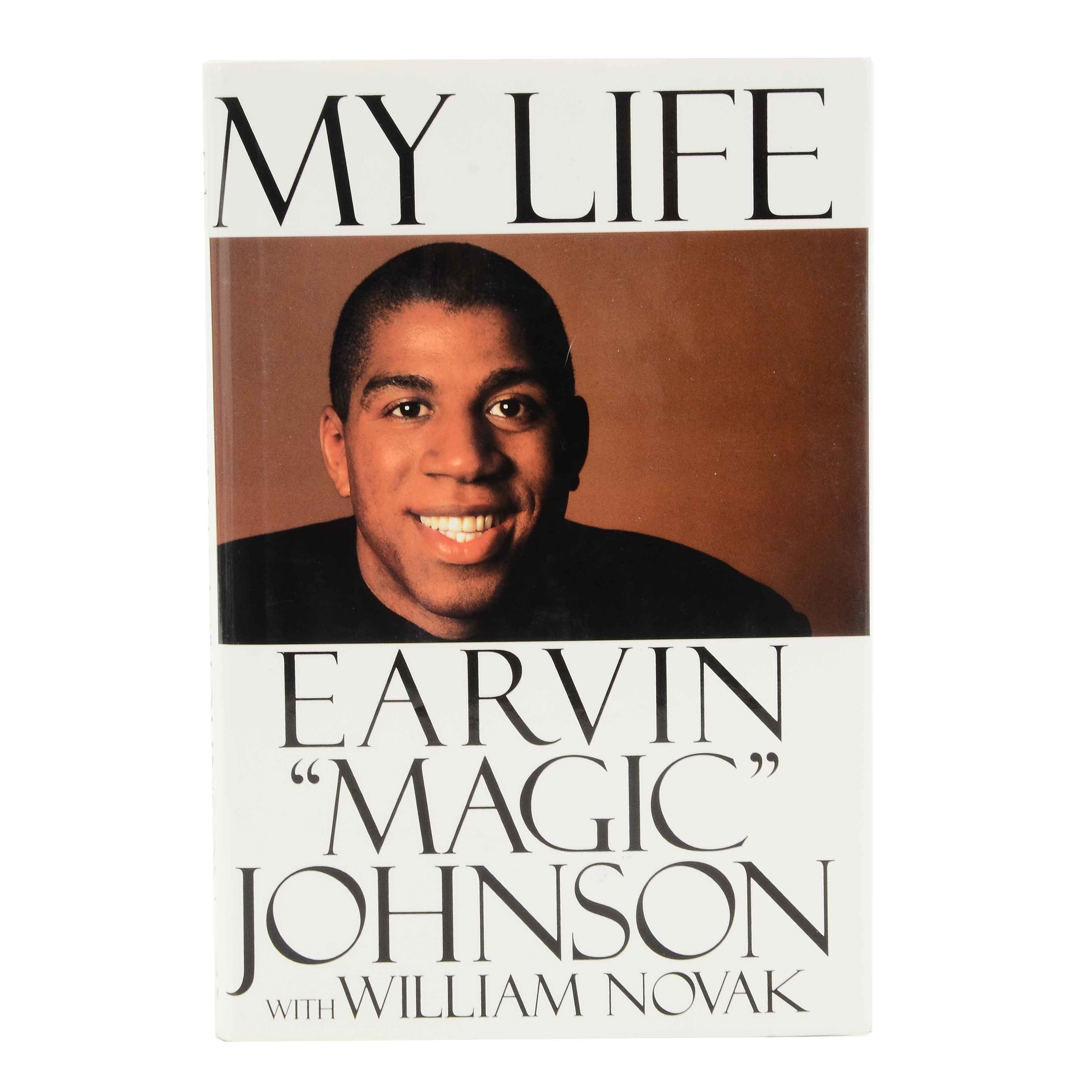 "Earvin ""Magic"" Johnson Signed ""My Life"""