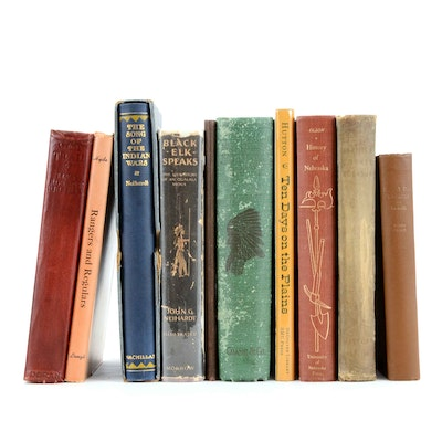 Vintage Nonfiction Books Relating to the American West