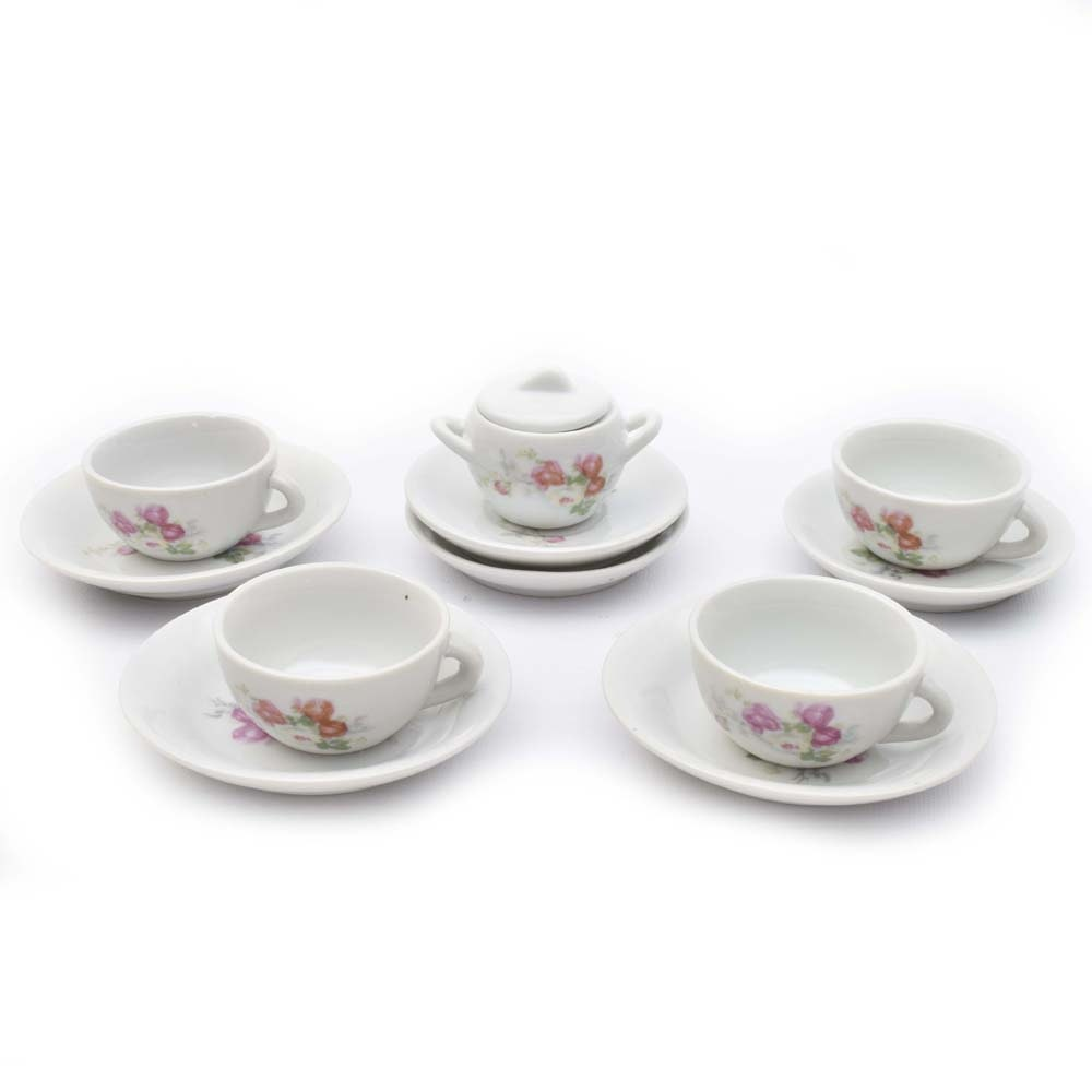 Miniature Chinese Ceramic Tea Set