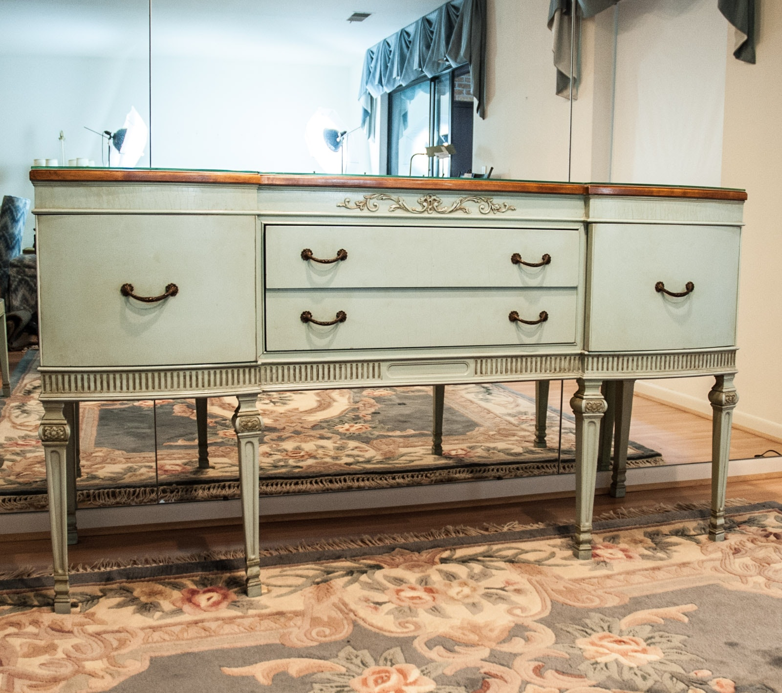 Vintage French Provincial Style Sideboard