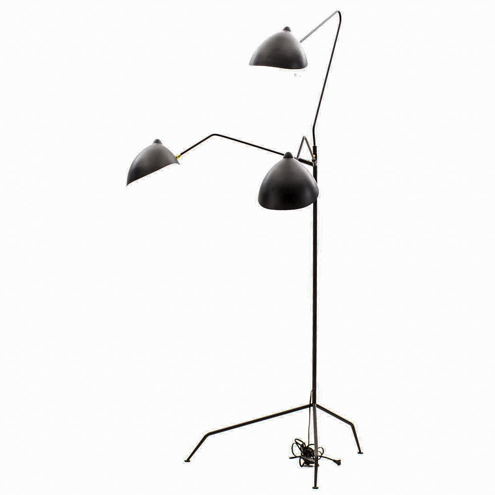 Contemporary Mid Century Modern Style Floor Lamp