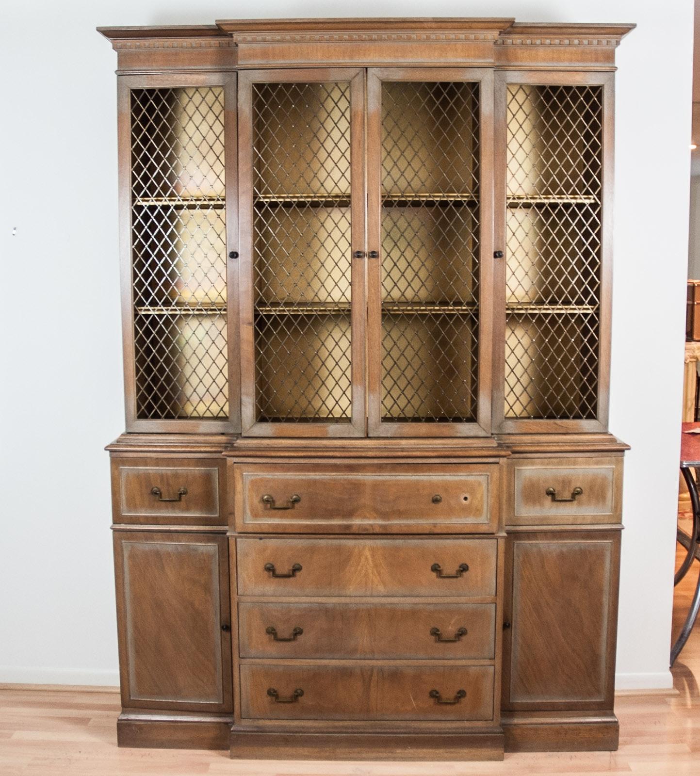 Breakfront Secretary Bookcase