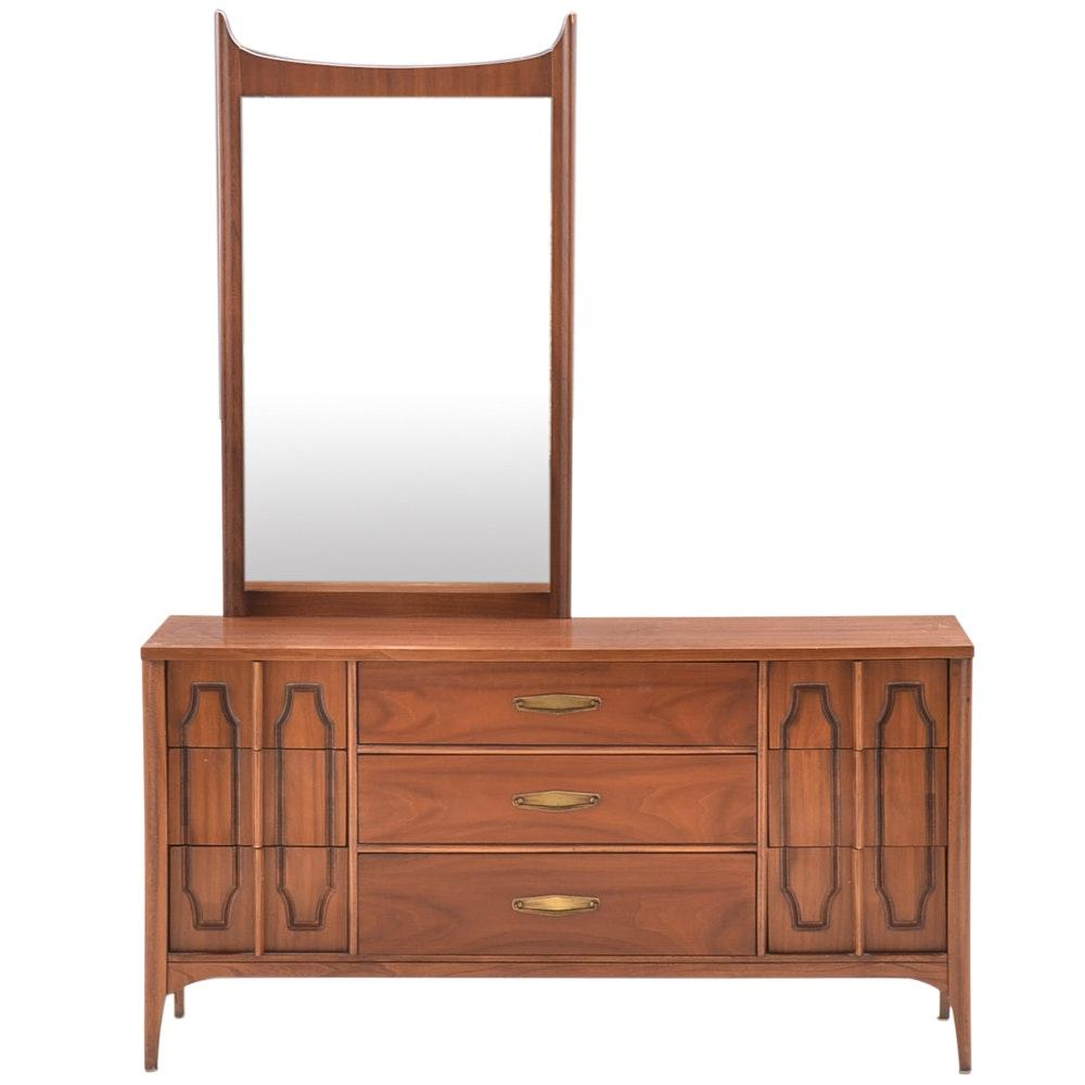 """Kent Coffey """"Marquee Modern"""" Dresser and Mirror"""