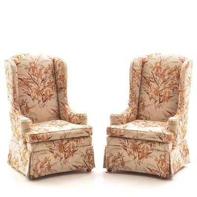 Pair of Vintage Chairs by Ethan Allen - Online Furniture Auctions Vintage Furniture Auction Antique