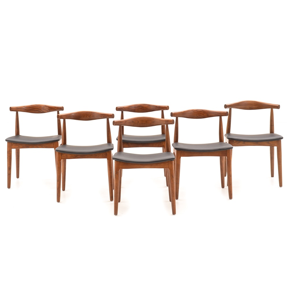 Mid Century Modern Style Dining Chairs