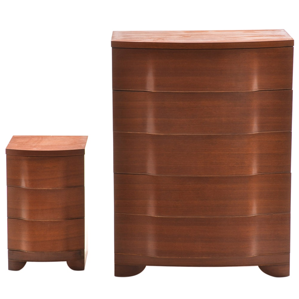 Bon Crane And McMahon Chest Of Drawers And Nightstand ...