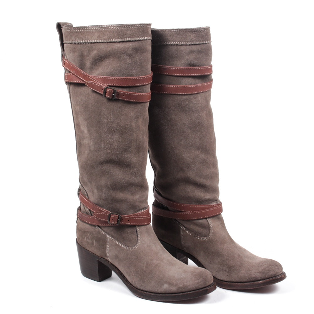 Women's Frye Suede Leather Boots