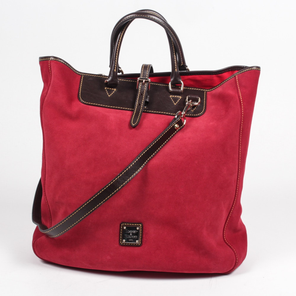 Dooney & Bourke Suede and Leather Handbag