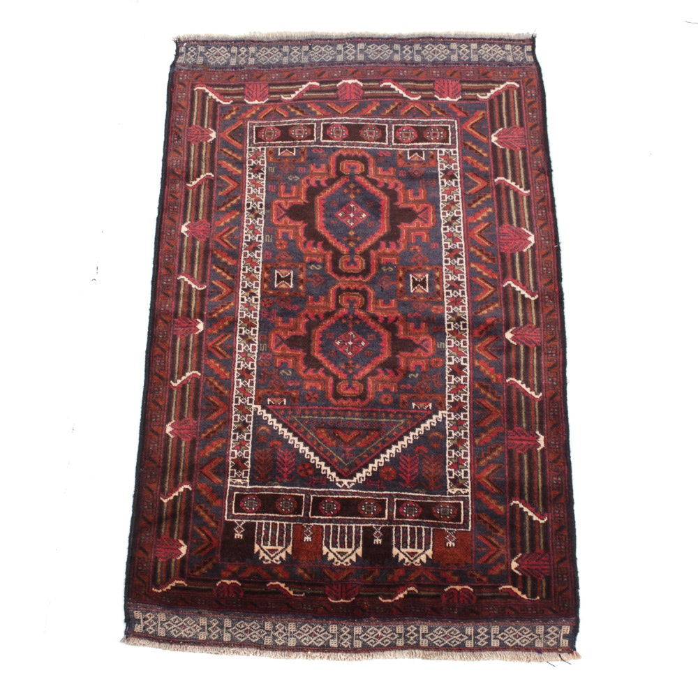 Semi-Antique Persian Baluch Rug